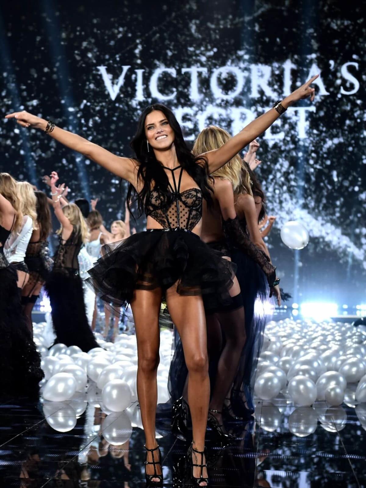 Adriana Lima in 2014 Victoria's Secret fashion show