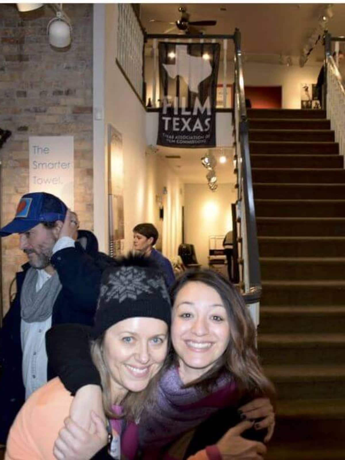 Heather Page, Director and Lindsey Ashley, Senior Production Consultant at the Texas Film Commission at the Texas Film Commission open house during Sundance 2017