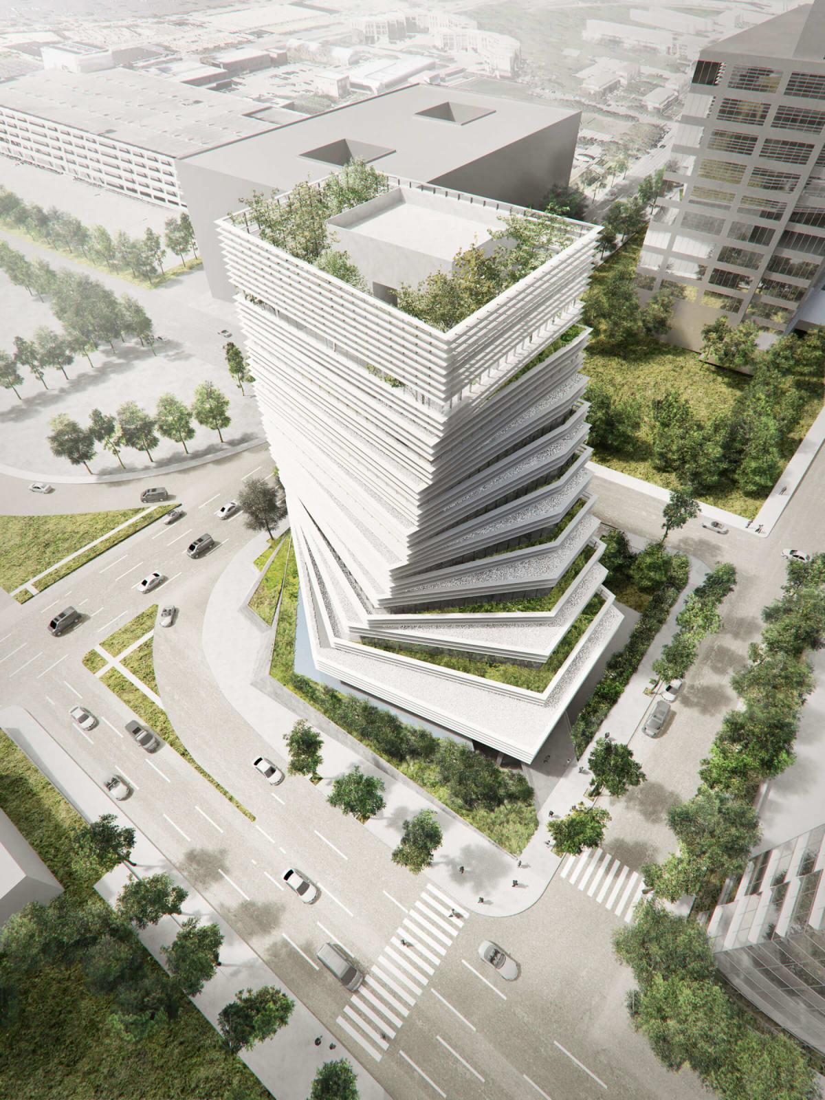 New Rolex building