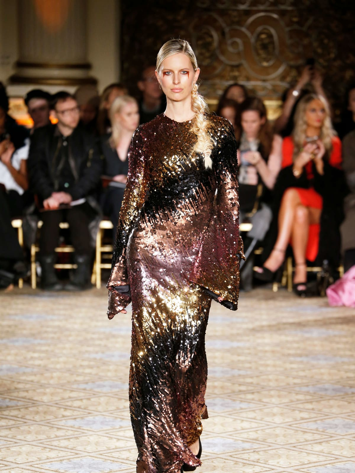 Christian Siriano fall 2017 collection look 53