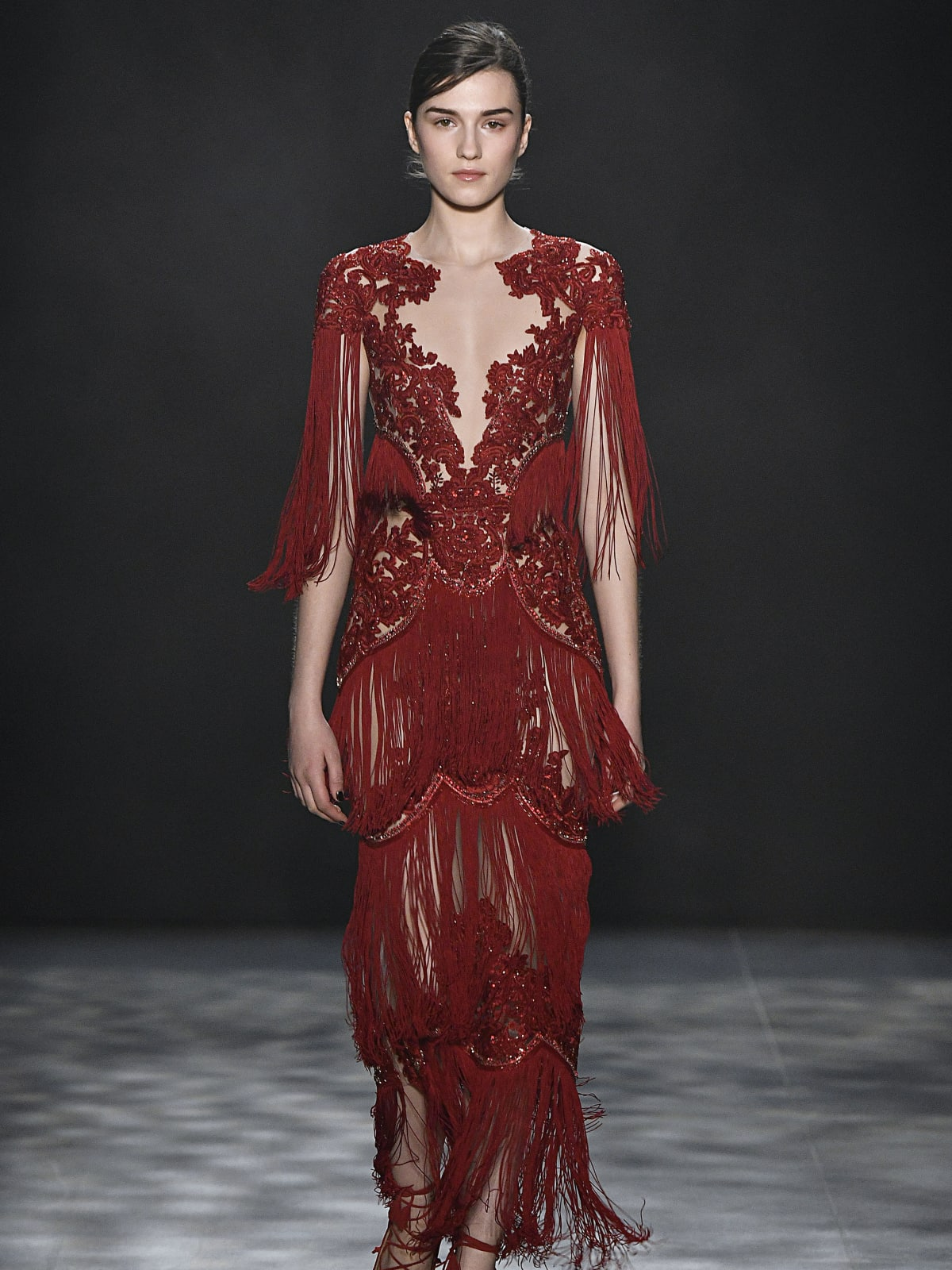 Marchesa fall 2017 collection look 28