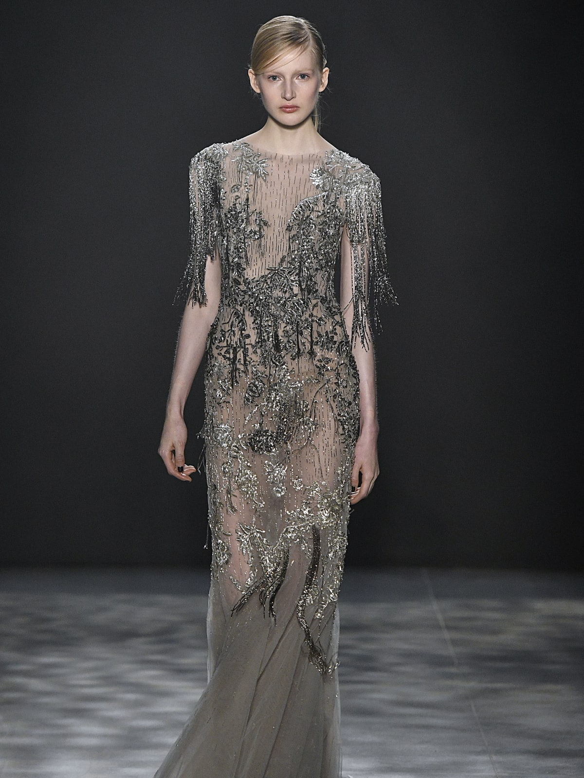 Marchesa fall 2017 collection look 10