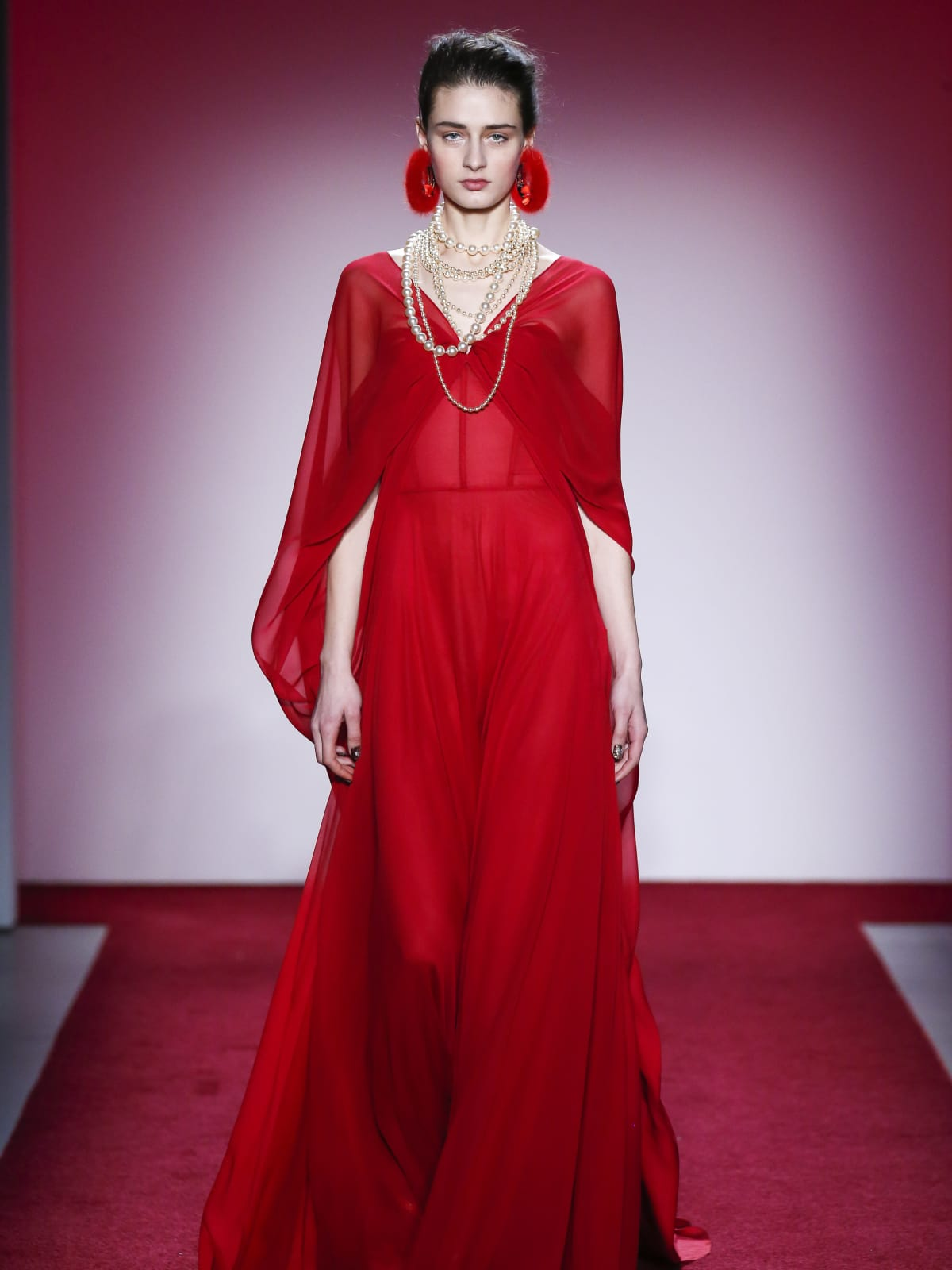 Naeem Khan fall 2017 collection look 28