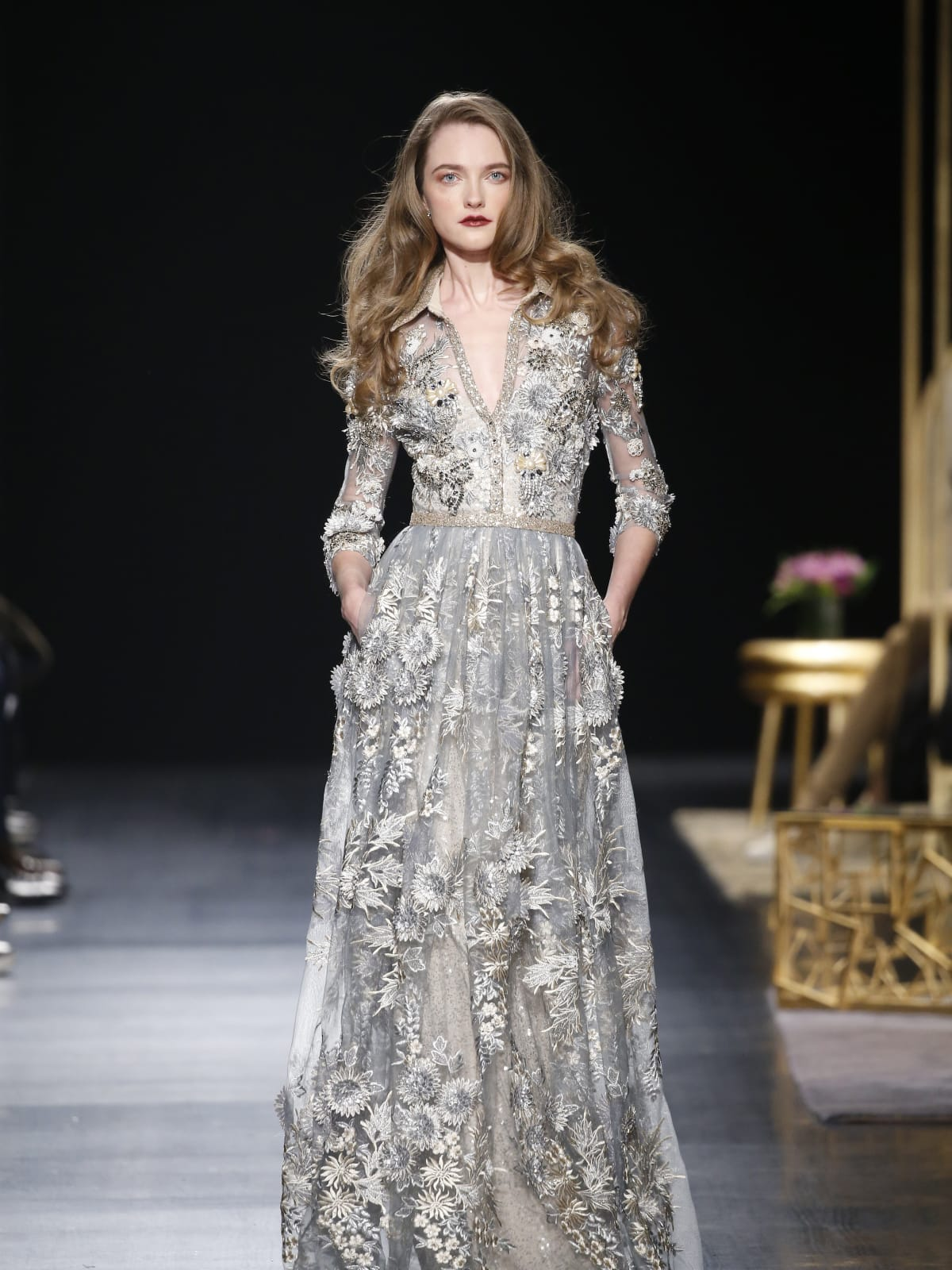 Badgley Mischka fall 2017 look 32