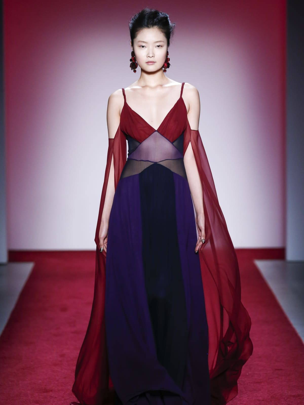 Naeem Khan fall 2017 collection look 24
