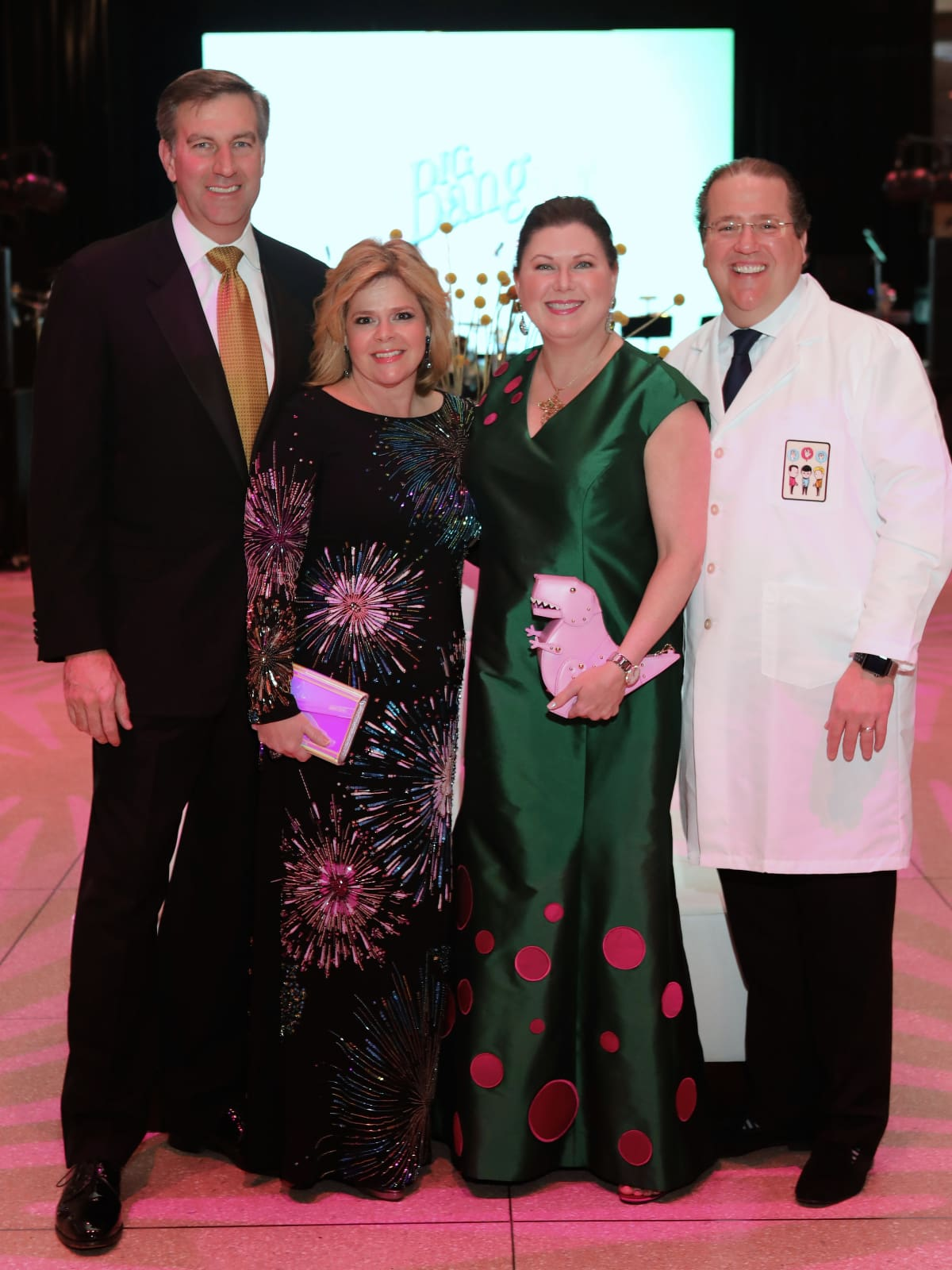 Houston, HMNS Big Bang Ball, March 2017, John Weinzierl, Kelli Weinzierl, Shawn Stephens Jordan, Jim Jordan