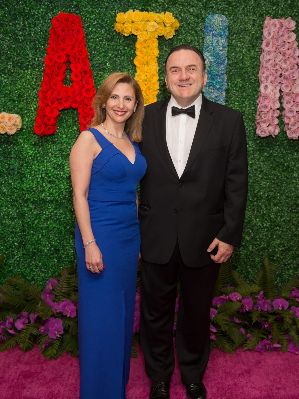 Liliane Haddad, Johny Rizk at Latin American Gala