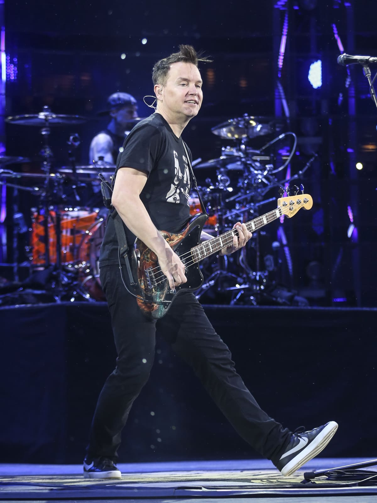 Blink 182 at RodeoHouston Mark Hoppus