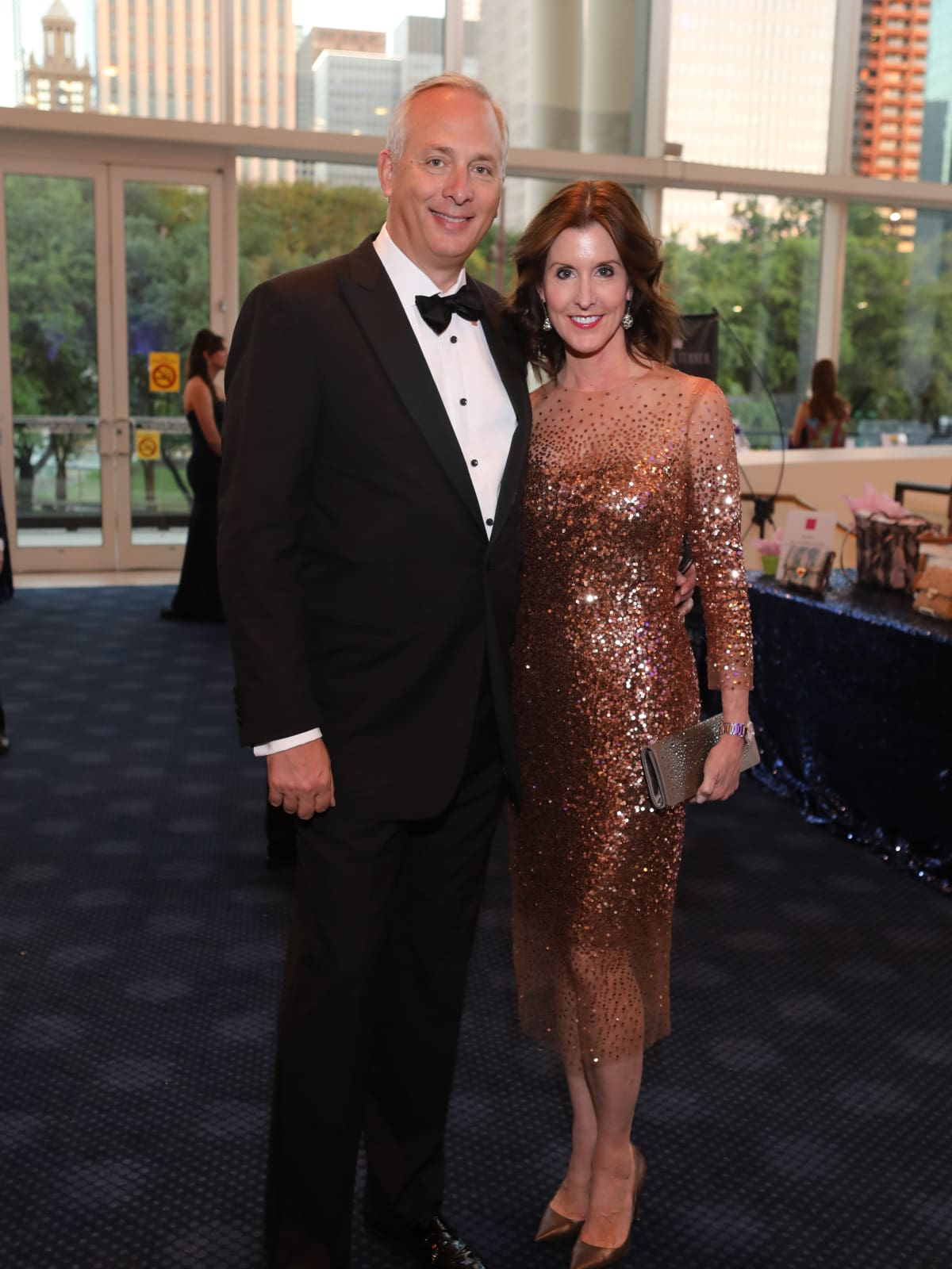 Phoebe Tudor, Bobby Tudor at 2017 TUTS Dreamgirls Gala