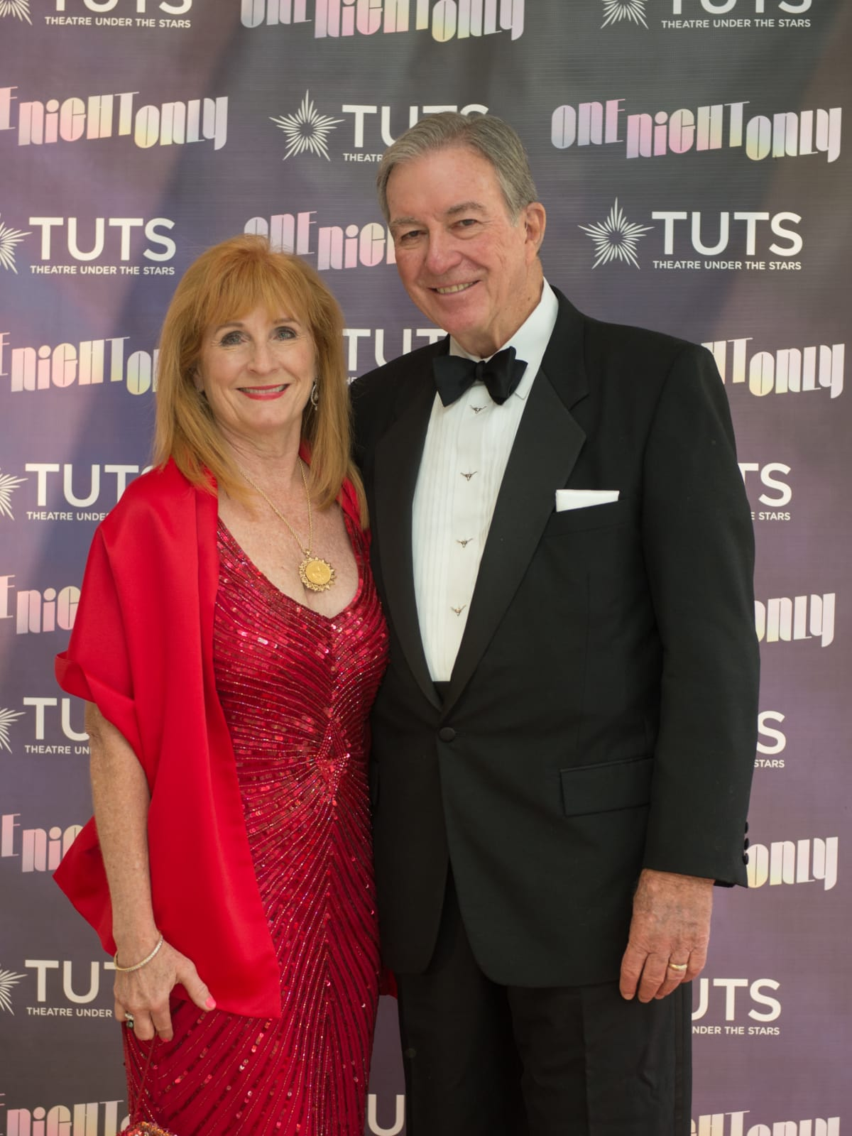 Grace and Rocky Holmes at 2017 TUTS Dreamgirls Gala