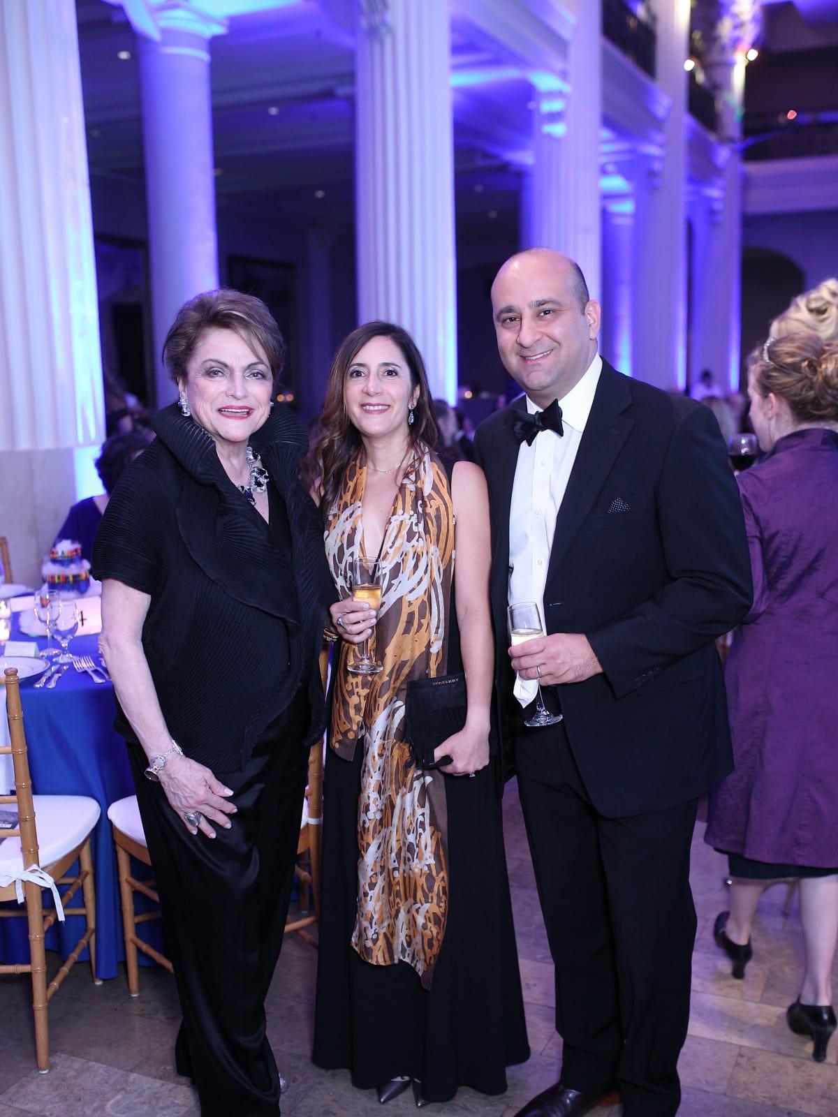 Beth Wolff - Avisheh Mohsenin  - Ali Naraghi at Denali Foundation Gala