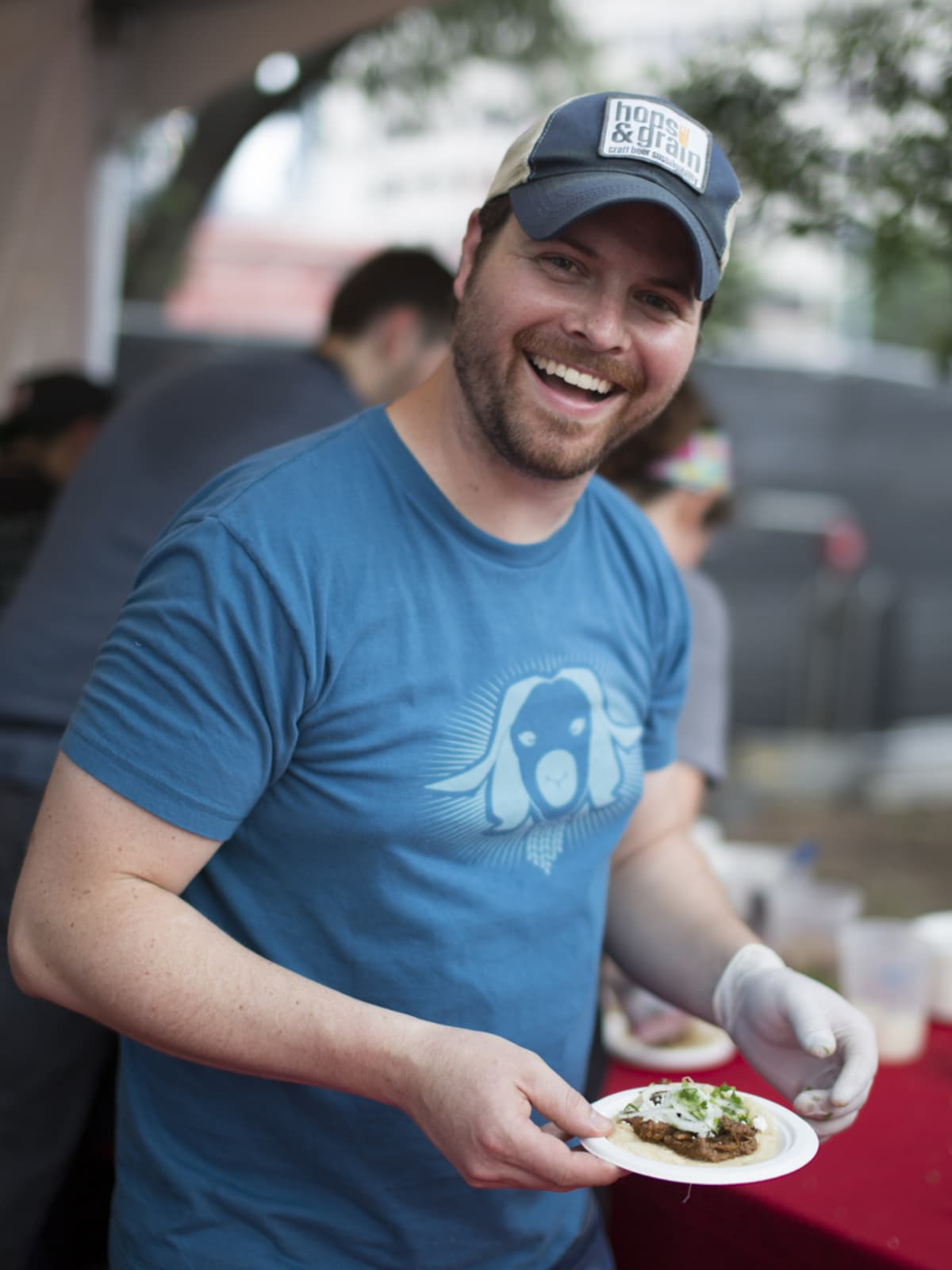 Bryce Gilmore Rock Your Taco Austin Food Wine Festival