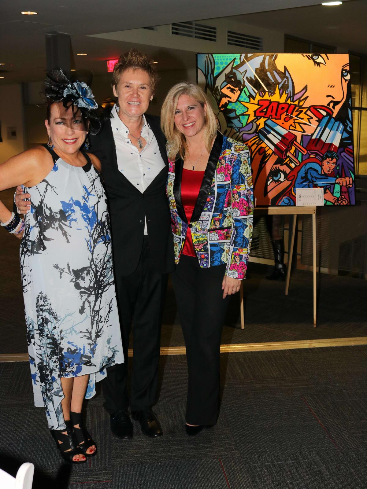 Lynn Bahr, Mary Kay Winchell, Kristi Holman