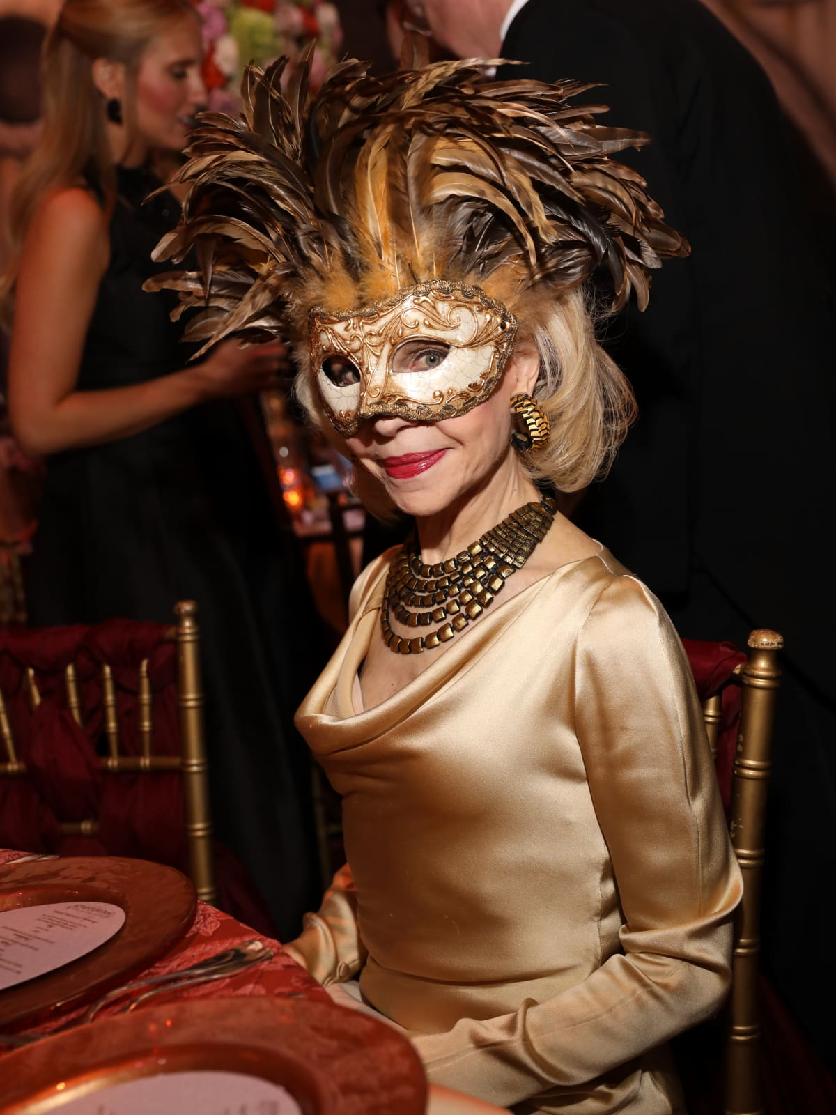 Houston, Houston grand opera ball, April 2017, Lynn Wyatt