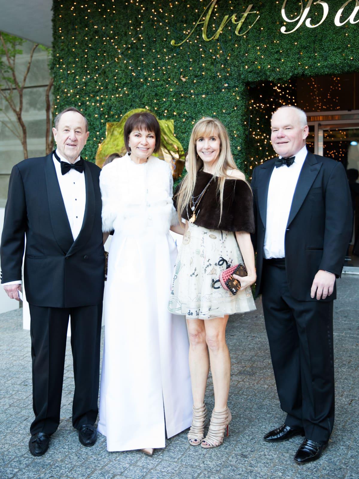 Peter Roberts, Jennifer Roberts, Nancy Carlson, Clint Carlson