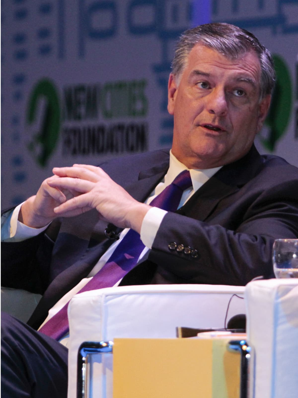 Dallas Mayor Mike Rawlings at 2013 New Cities Summit