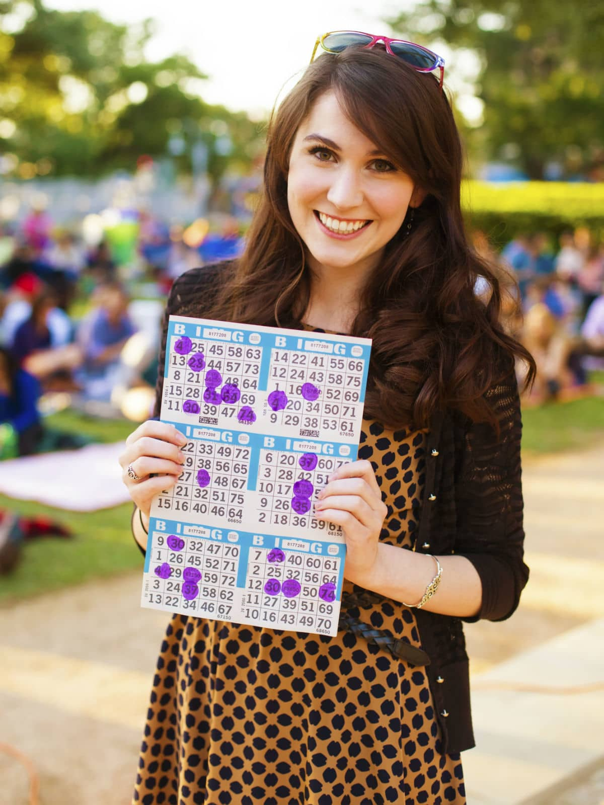Blanket Bingo in Market Square Park