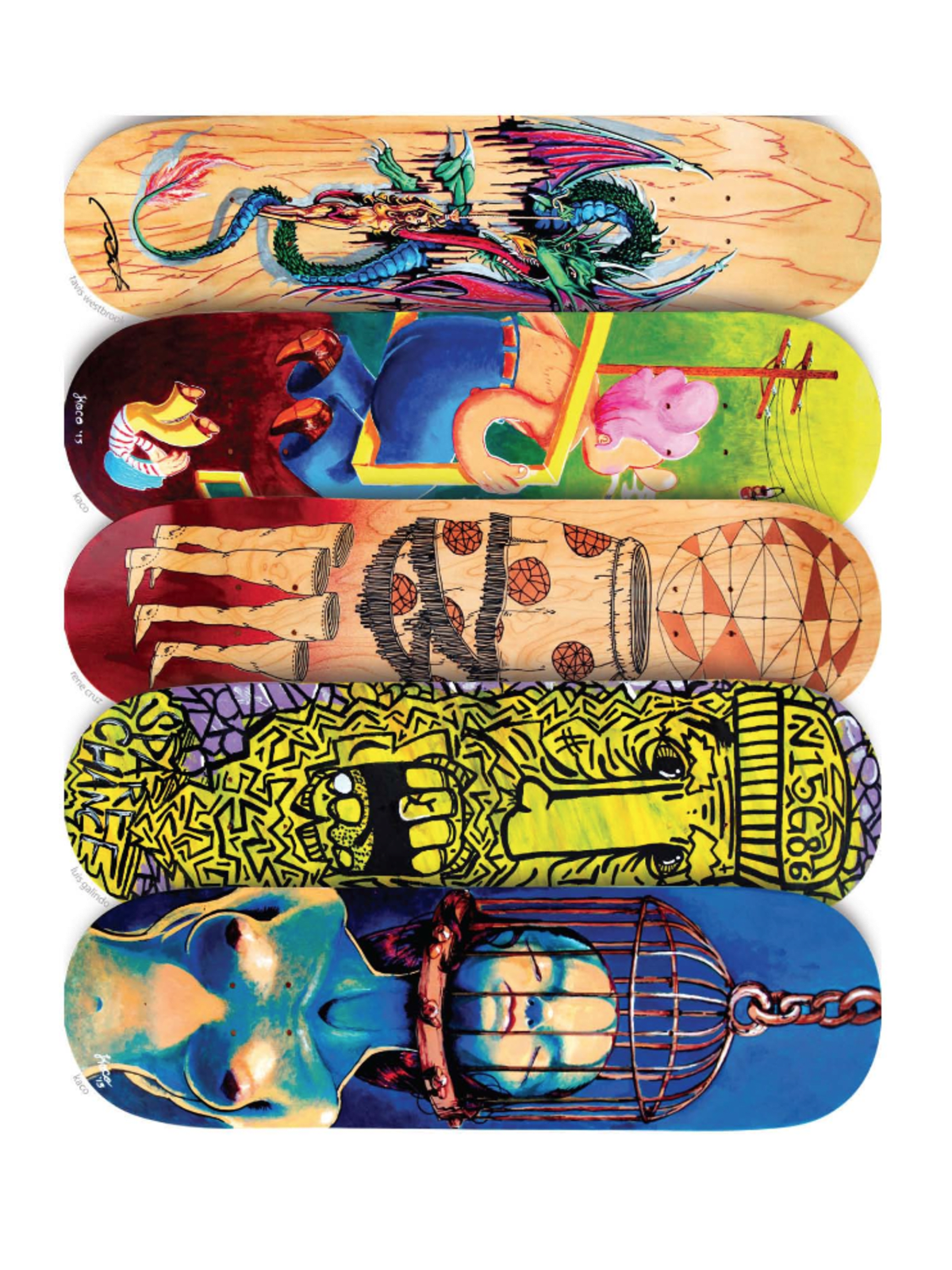 Art opening reception: Artista Skateboard