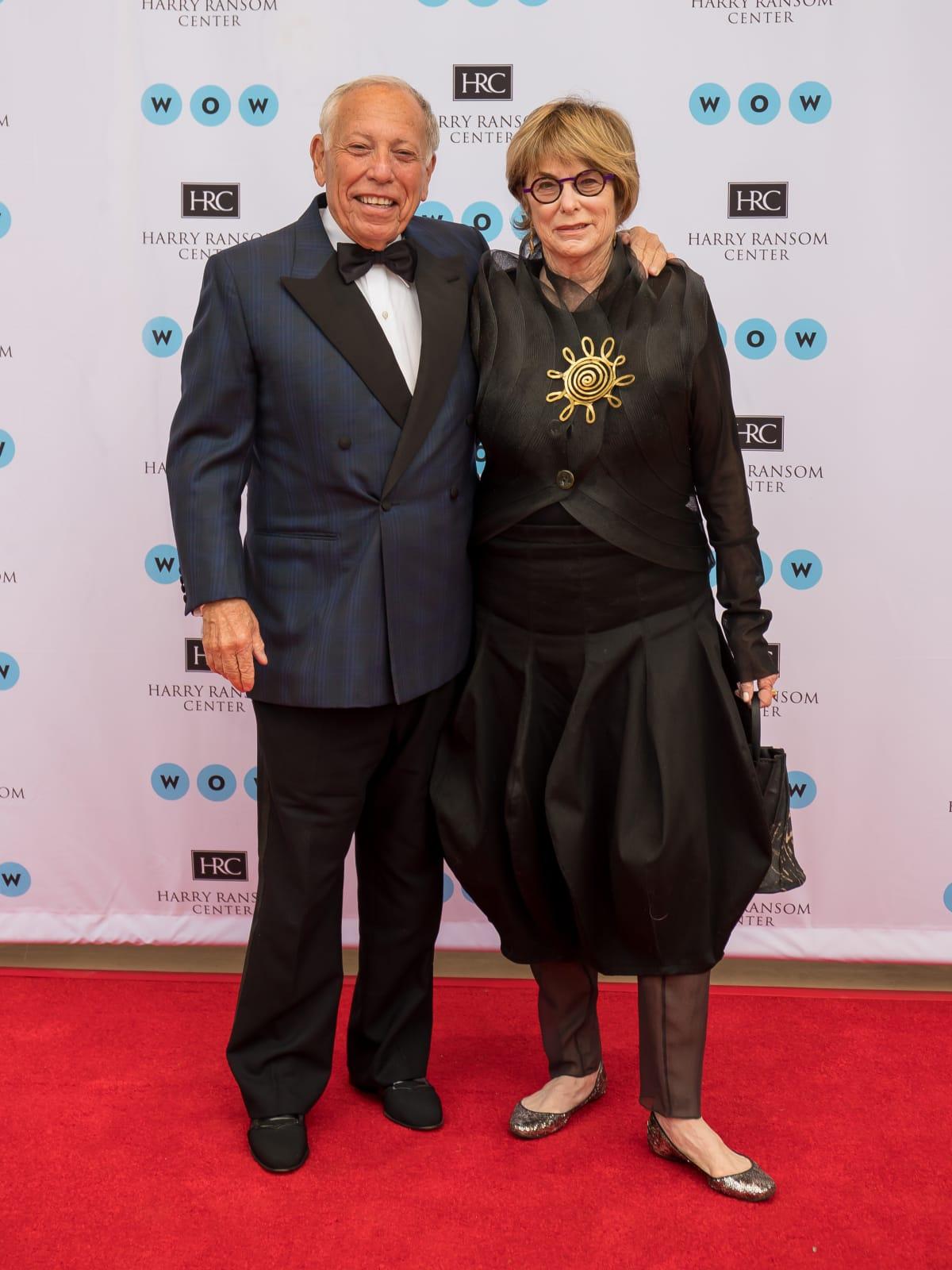 Ransom Center World of Wonders Gala 2017 Michael Klein Jeanne Klein