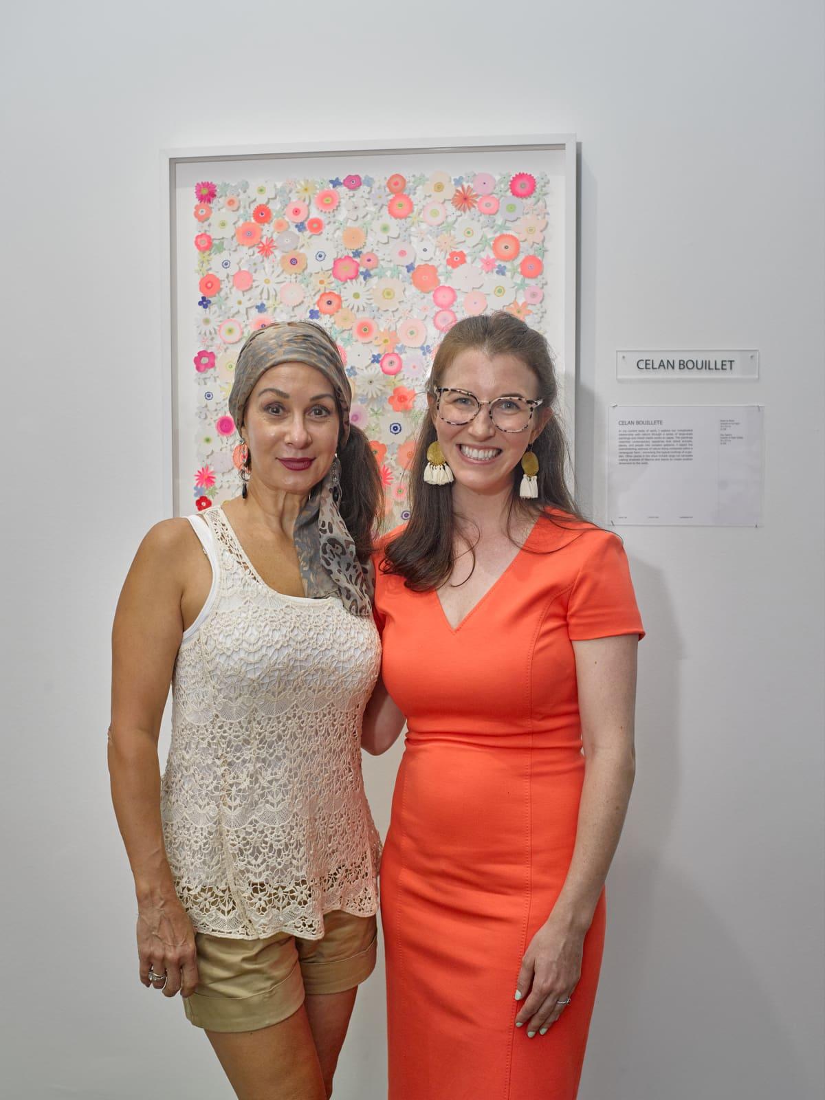 Linda Robicheaux, Celan Bouillet at Sawyer Yards Artist Stroll