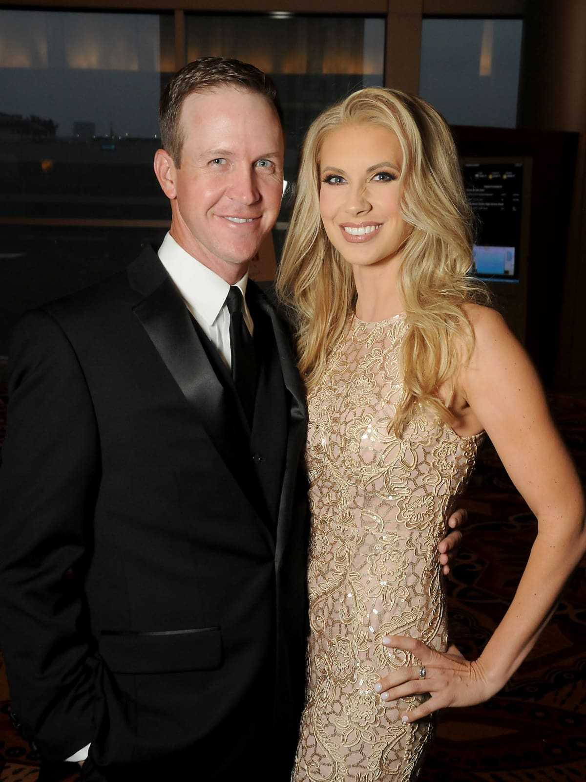 Bud Lyon and Kim Colvin at Memorial Hermann Gala