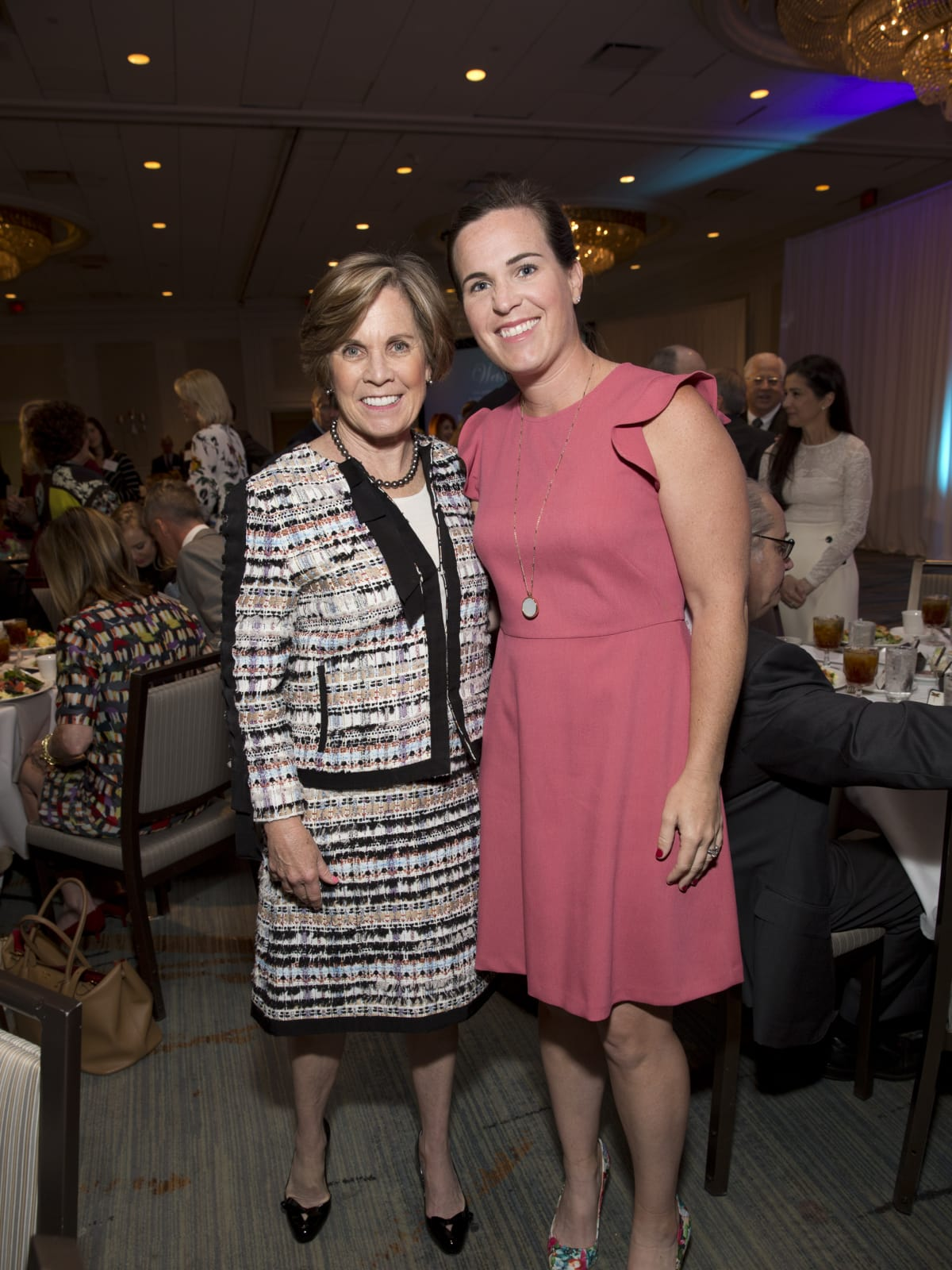 Maureen Hackett, Molly LaFauci at Menninger Clinic luncheon