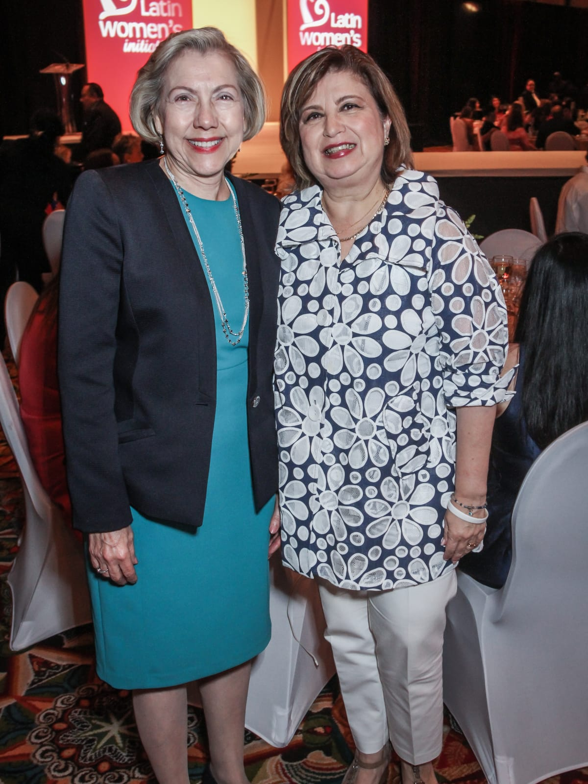 Latin Women's Initiative Luncheon, Elva Flores and Leticia Fallick