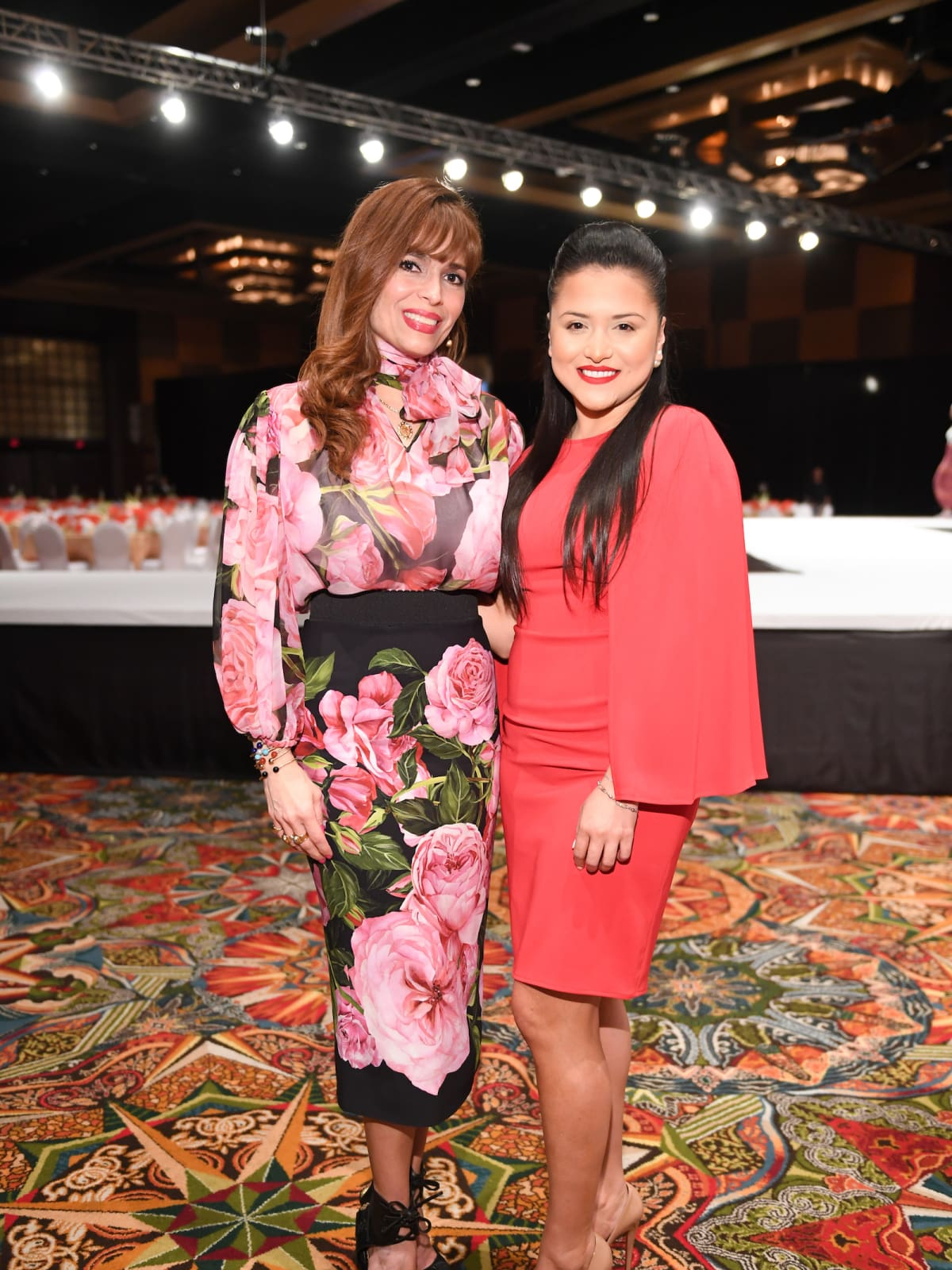 Latin Women's Initiative Luncheon, Karina Barbieri and Daisy Mendoza