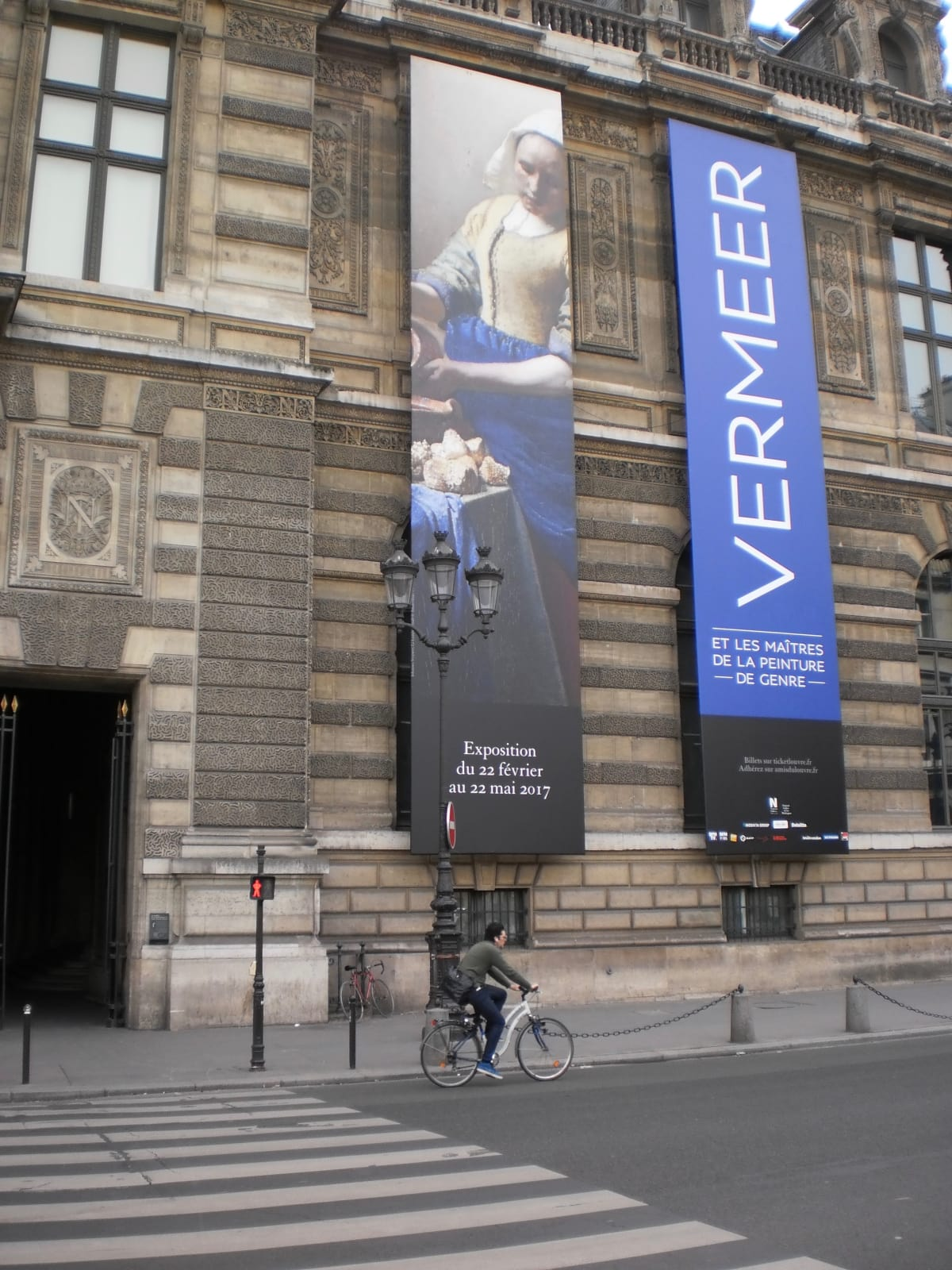 """""""Vermeer and the Masters of Genre Painting"""" at the Louvre in Paris"""