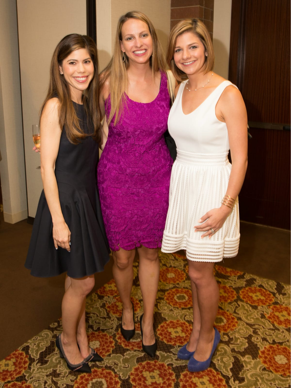Lara Tafel, Katie Balssey, Lauren Ludlow