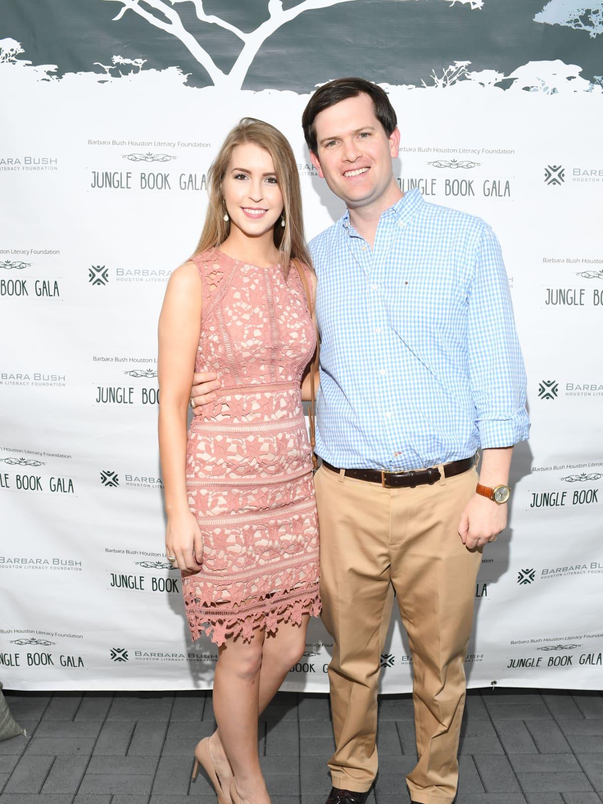 Grace Gosnell, Tom Gosnell at Barbara Bush Foundation gala kickoff