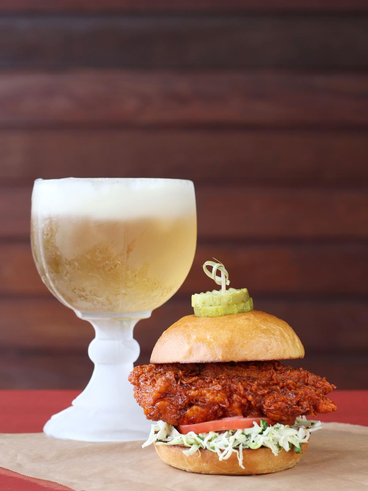 Hopdoddy Nashville chicken sandwich