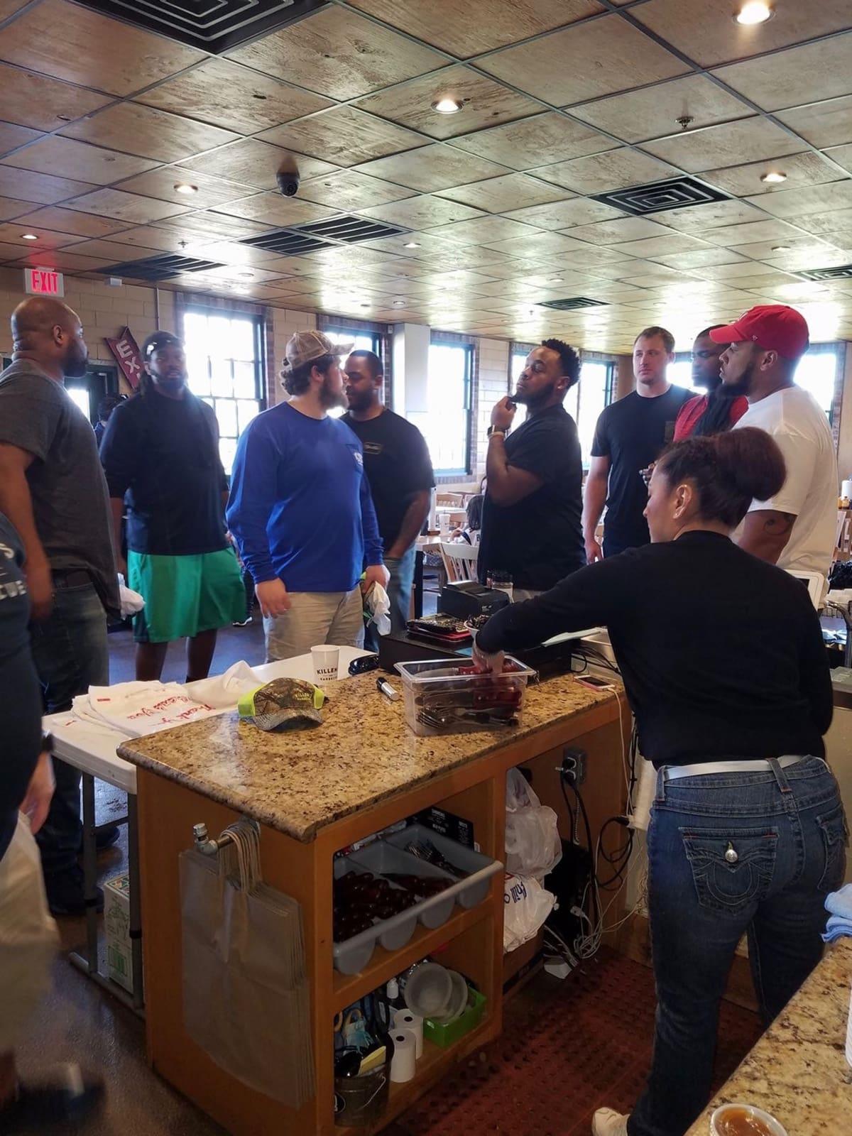 New England Patriots Killen's Barbecue