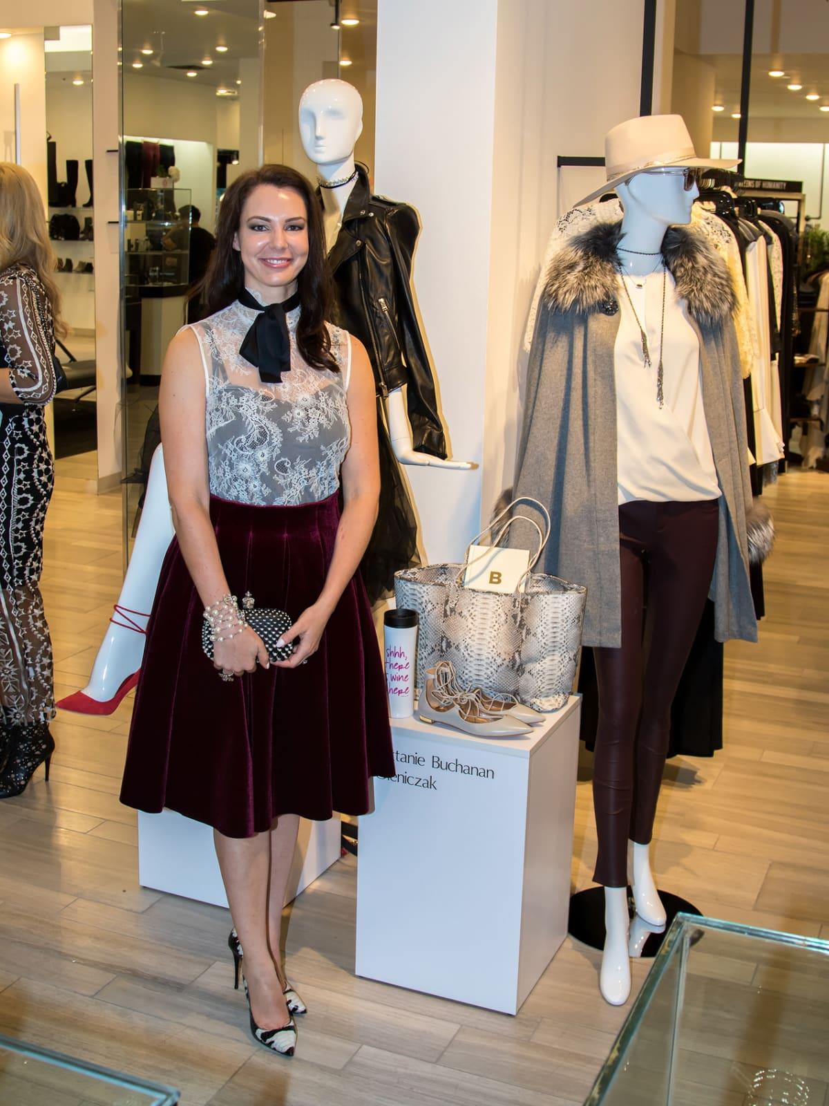 Brittanie Buchanan Oleniczak, Dallas Stylemaker 2016 Reveal Party