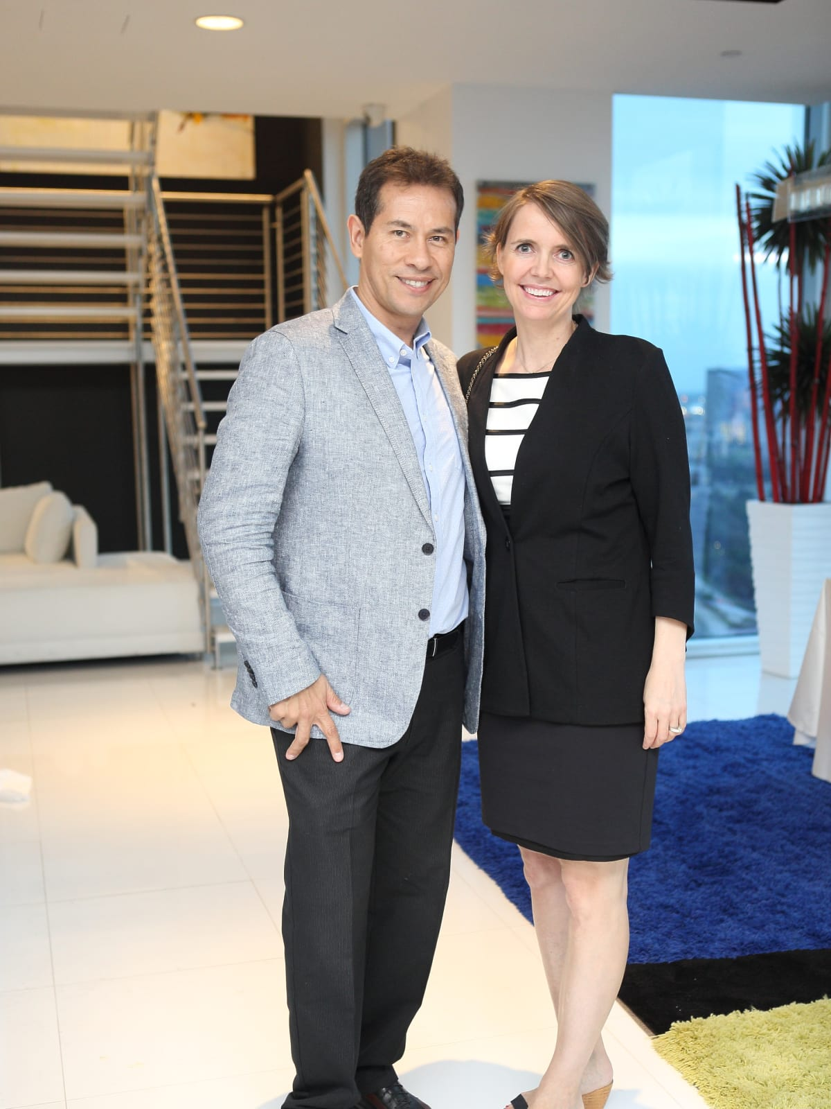 CKW Luxe Star Awards 6/16 Frederico Marques, Cecile Tindlund