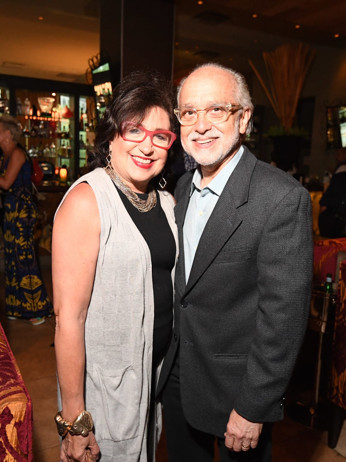 Cafe Annie 35th anniversary, 6/16, Roz Pactor, Alan Pactor