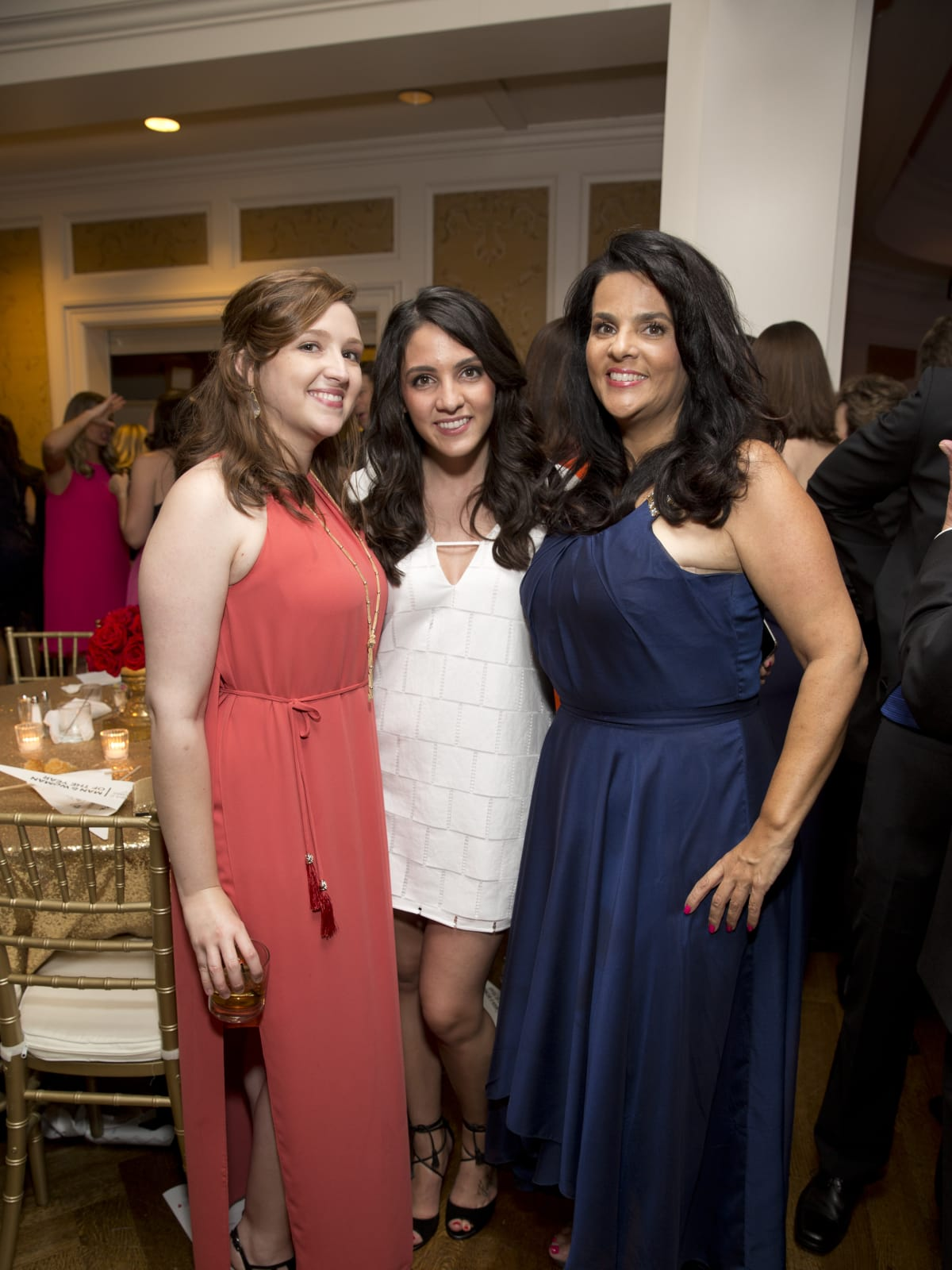 Leukemia & Lymphoma Society gala, 4/16, Chelsea Moriarty, Erica Moriarty, Inez Moriarty