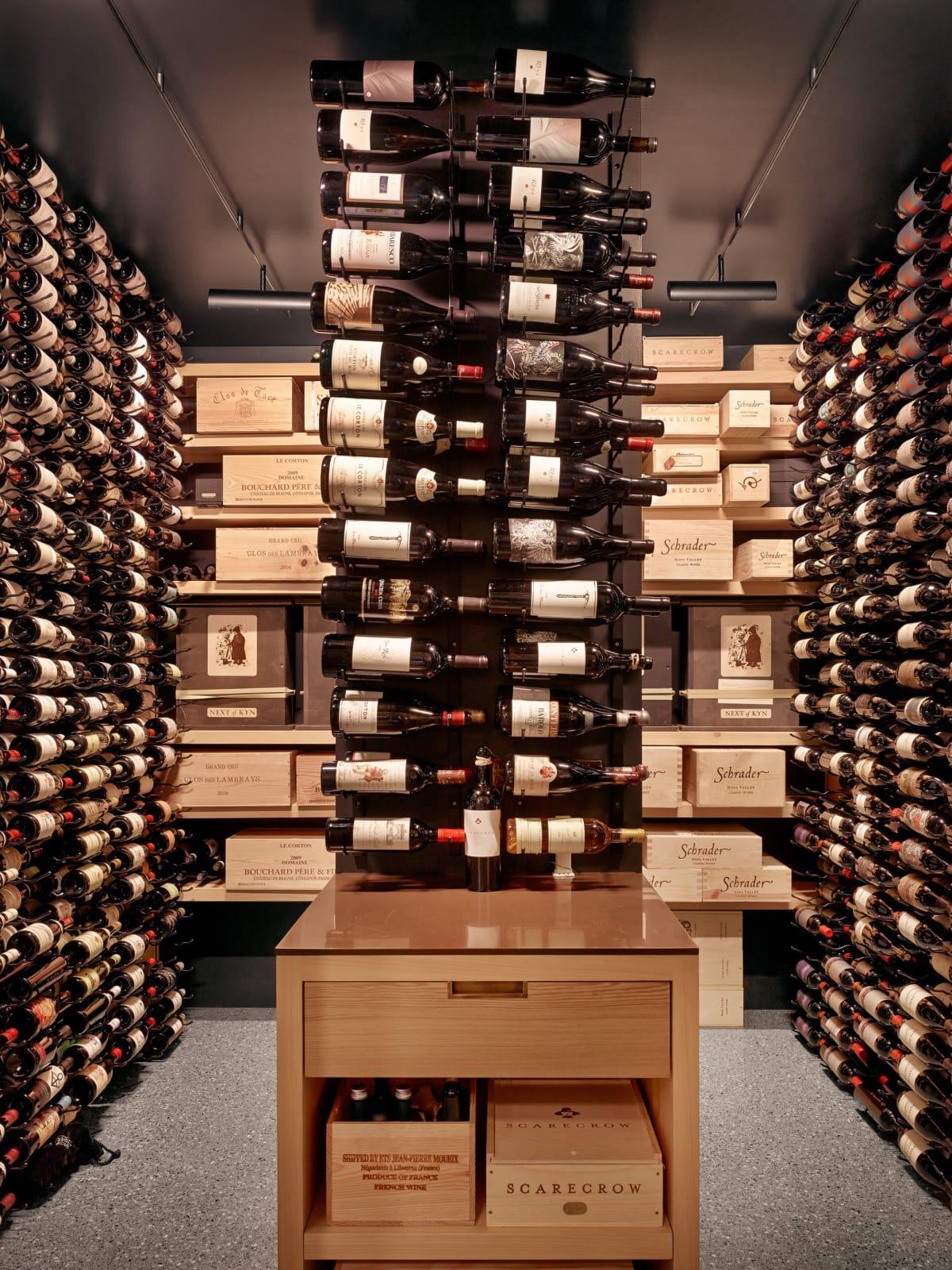 1514 Banks, June 2016, wine cellar