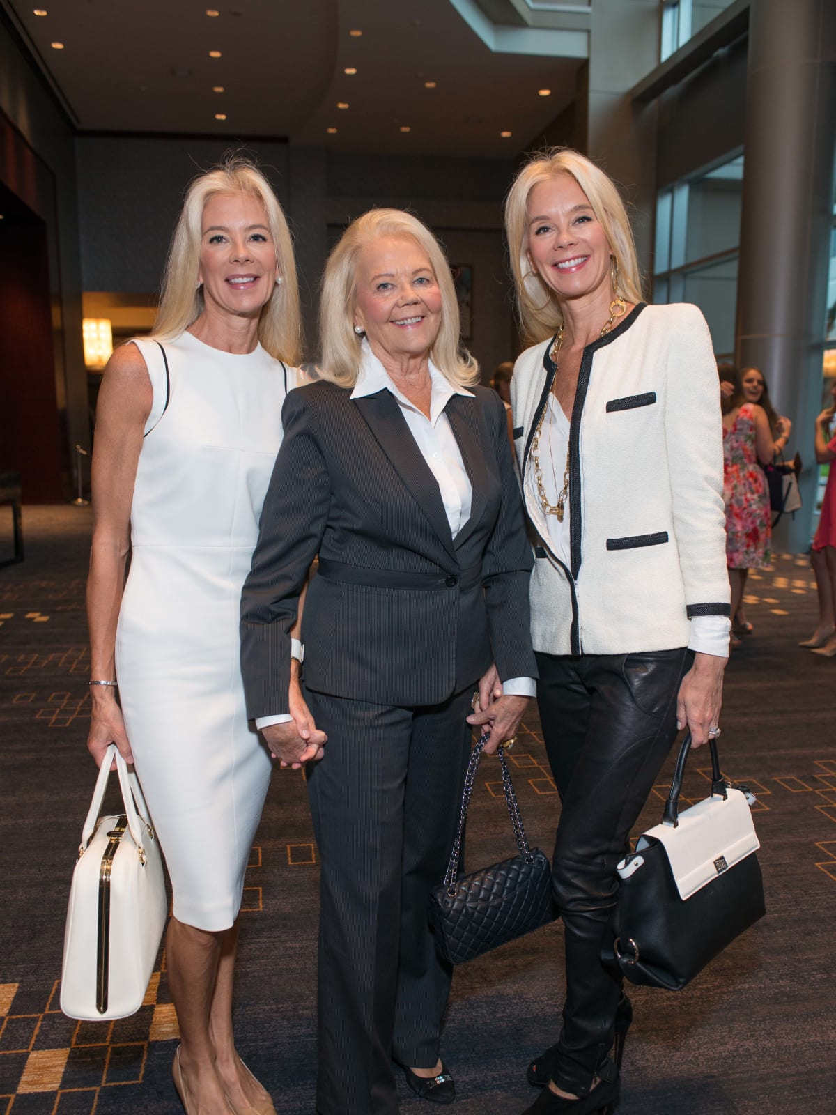 Crime Stoppers luncheon, 6/16 Tama Lundquist, Marge Lundquit, Tena Lundquist Faust