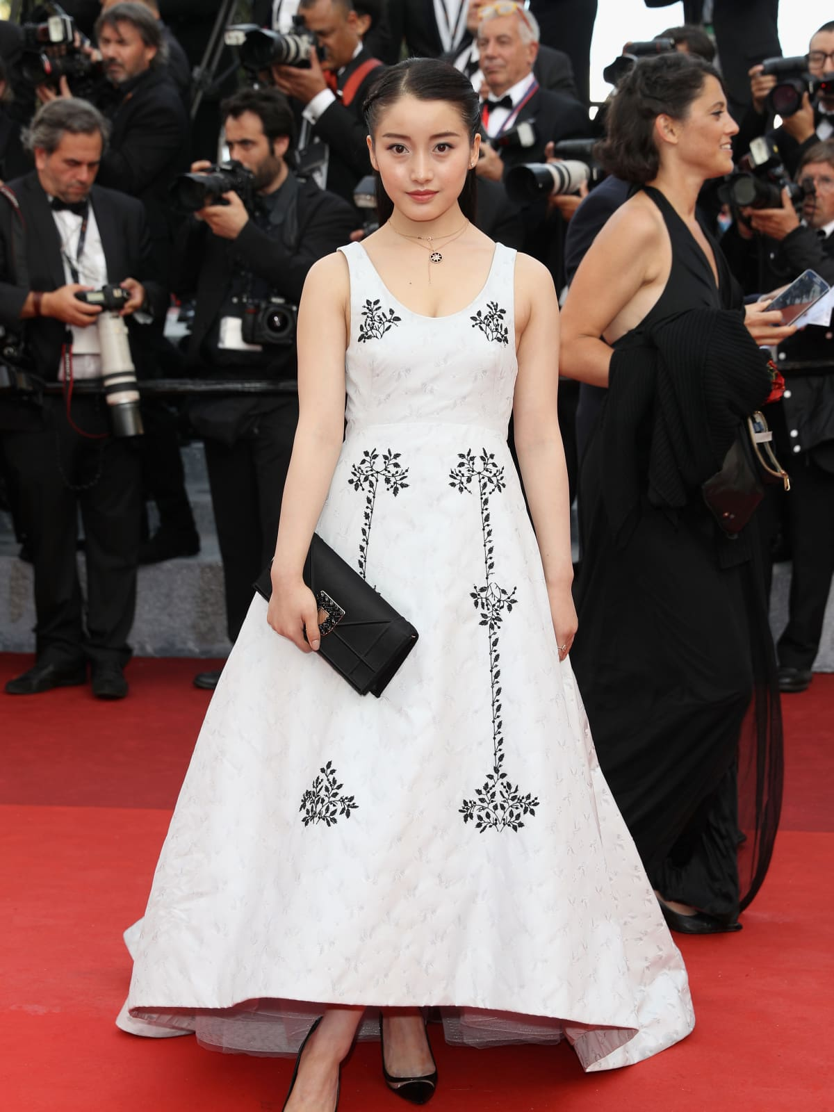 Yao Xin in Dior at Cannes Film Festival