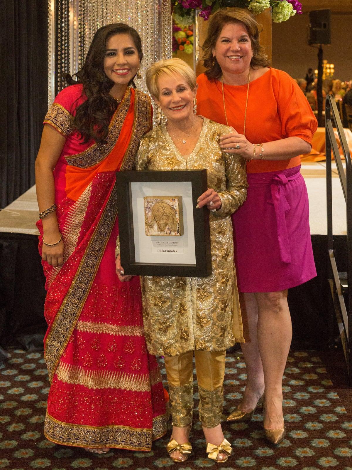 Child Advocates gala 5/16,  Mercy, Millie Anhalt, Sonya Galvan