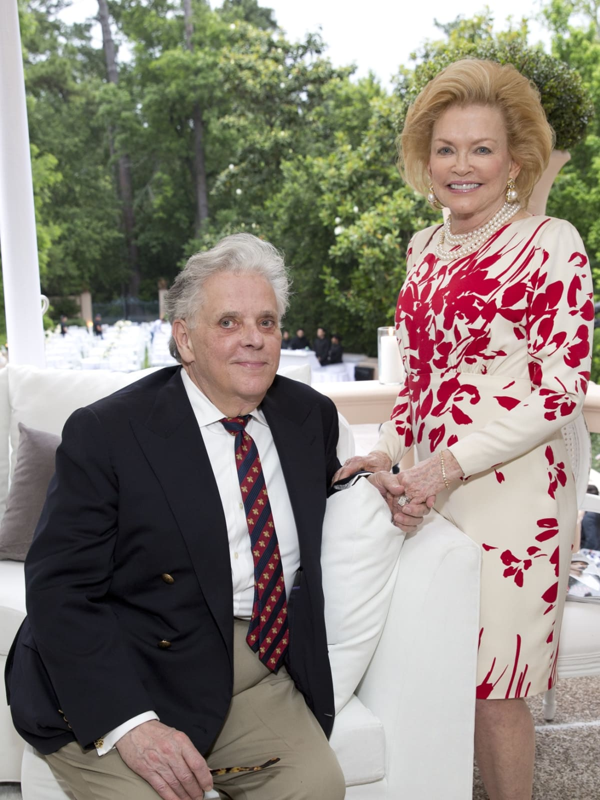 Rienzi Spring Party, 5/16  Victor Costa, Jerry Ann Woodfin-Costa