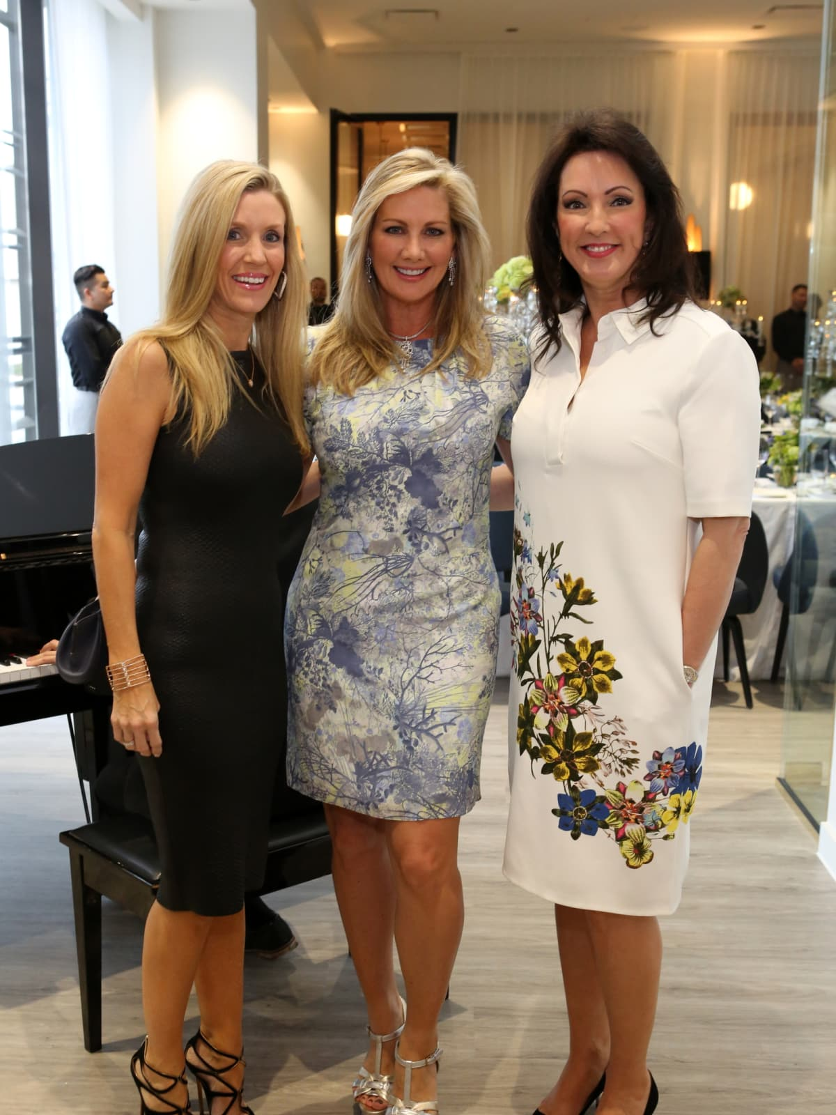 Saks Opening Dinner for HGO 4/16,  Michelle Smith, Anne Carl, Alicia Smith