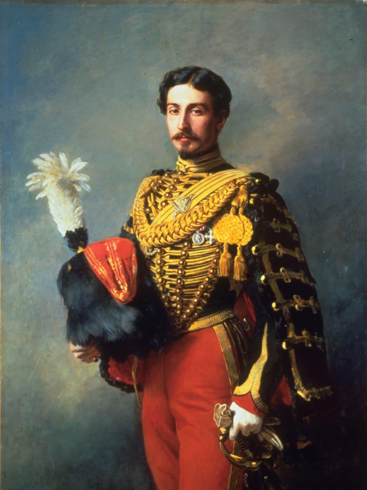 Winterhalter - Portrait d'Edouard André