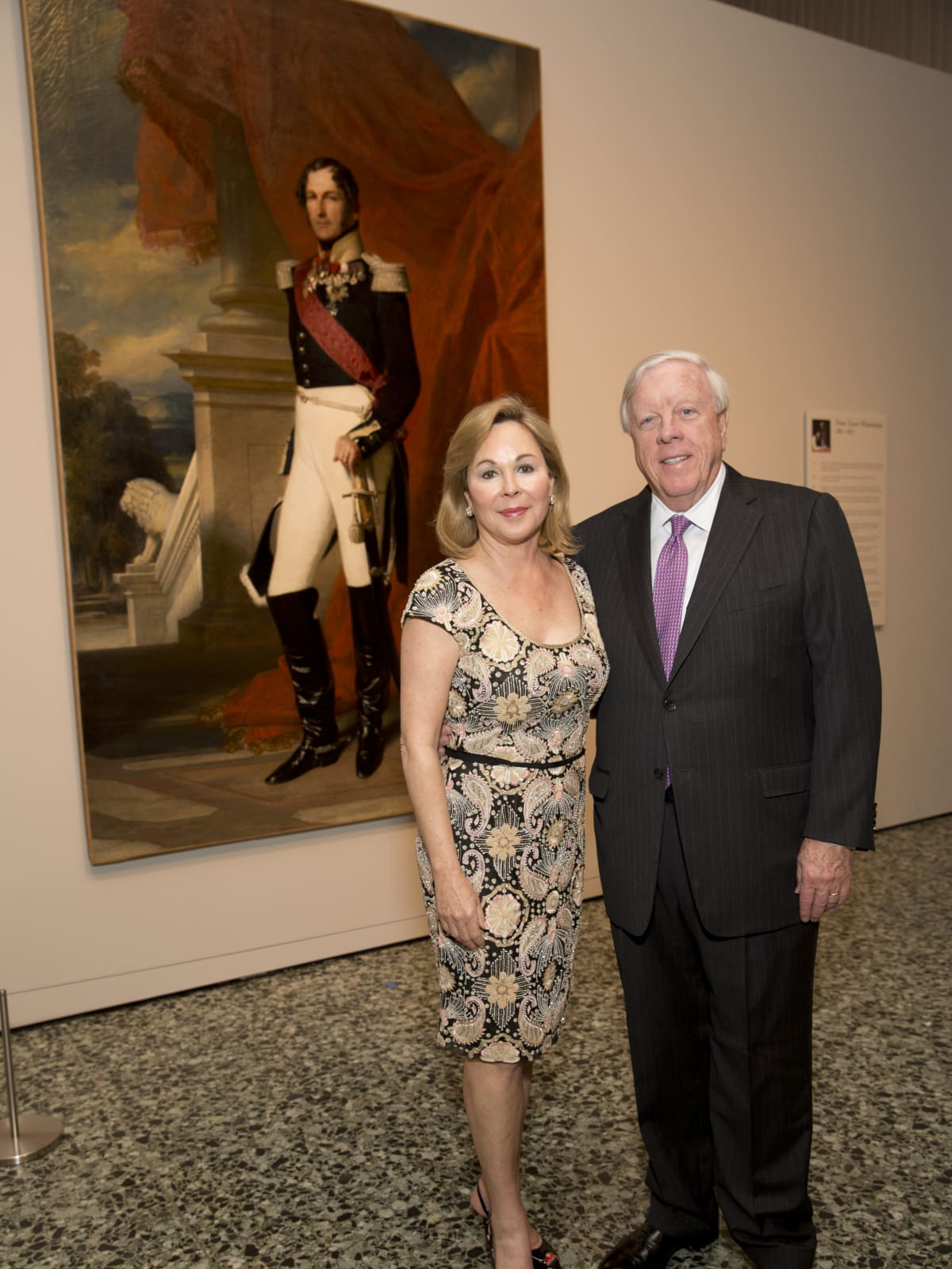 MFAH High Society, 4/16, Nancy Kinder, Rich Kinder