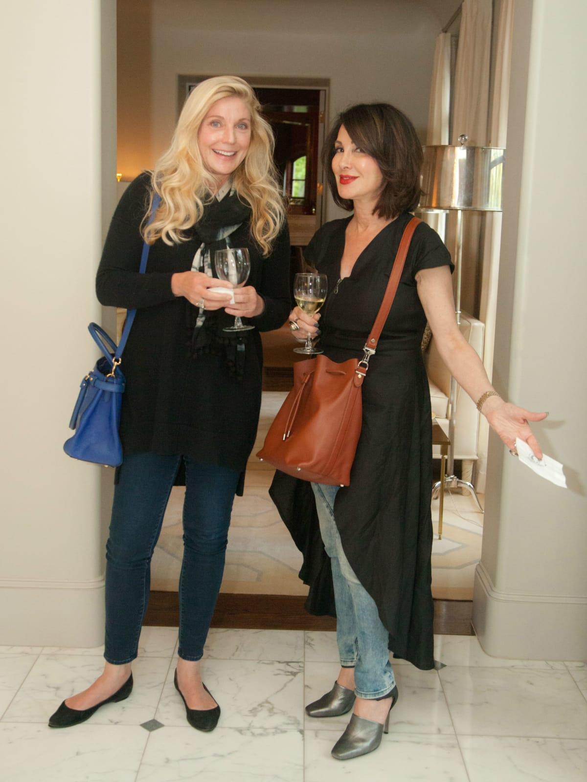 Tribute Goods party, April 2014, Gemma Cunningham, Eve Michaels