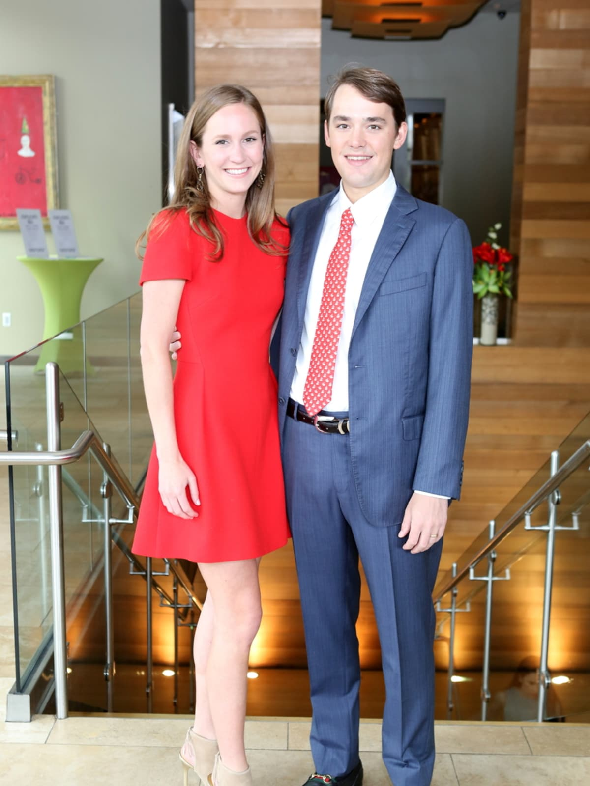 Houston Ballet Barre dinner, April 2016 Lilly Cullen, Harrison Cullen