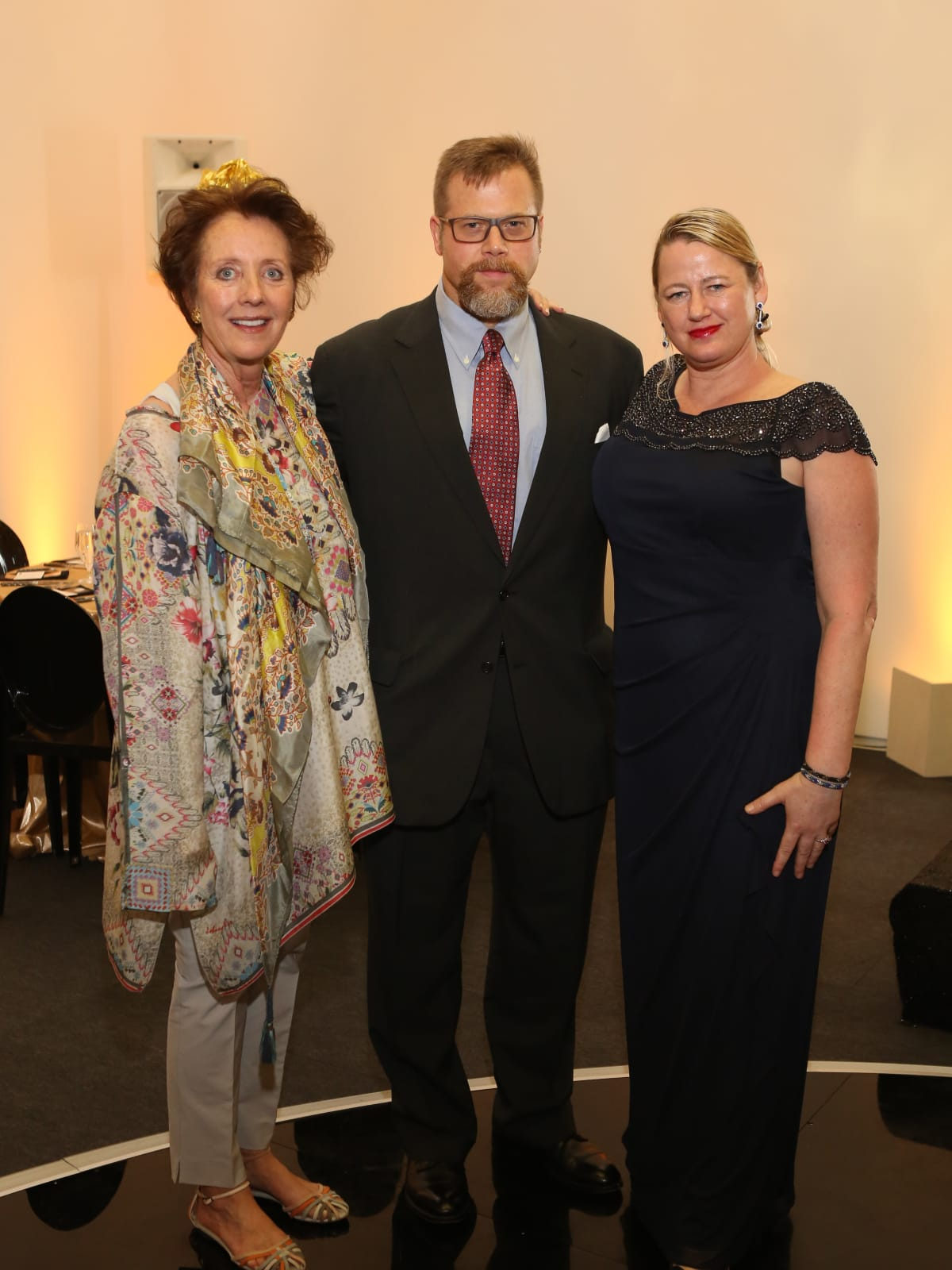 Blaffer Galleria Gala, April 2016, Anne Owen, Erik Arneberg, Ingrid Arneberg