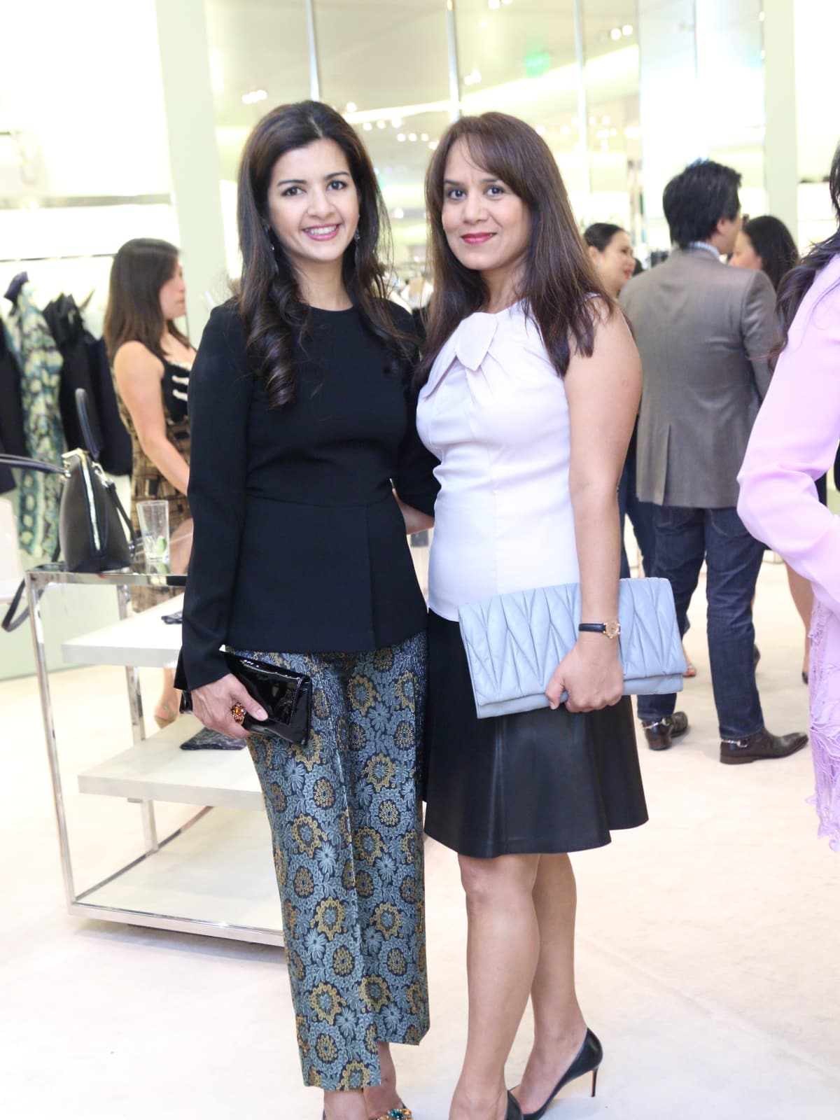 Naureen Malik, Anu Reddy at APAHA kickoff party at Prada