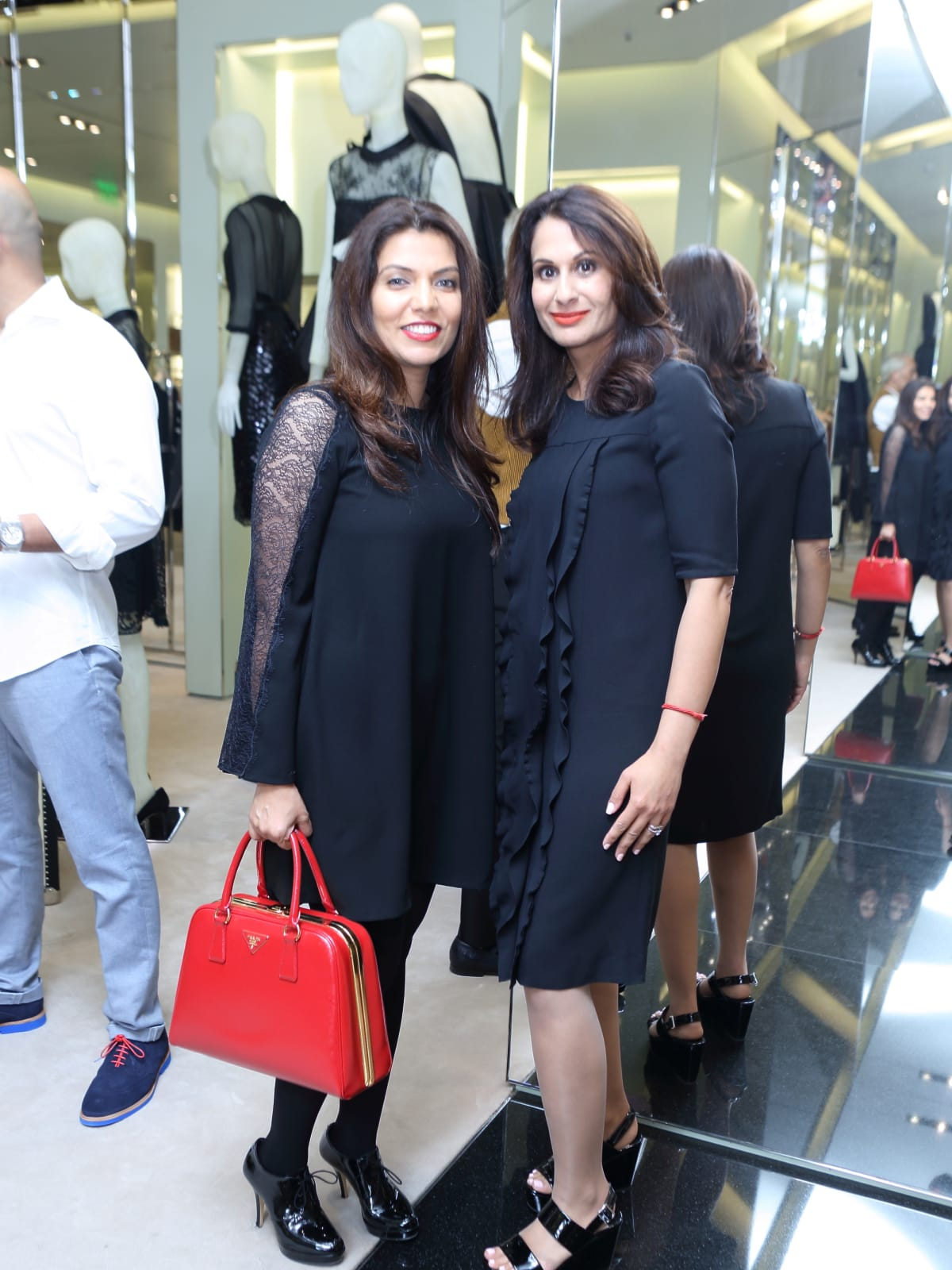 Mona Khan, Jyoti Kohli at APAHA kickoff party at Prada